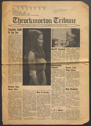 Primary view of object titled 'Throckmorton Tribune (Throckmorton, Tex.), Vol. 83, No. 48, Ed. 1 Thursday, July 13, 1972'.