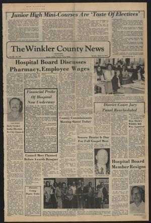 Primary view of object titled 'The Winkler County News (Kermit, Tex.), Vol. 40, No. 104, Ed. 1 Monday, March 14, 1977'.
