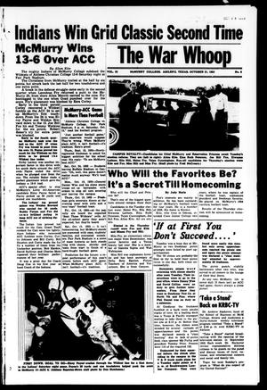 The War Whoop (Abilene, Tex.), Vol. 33, No. 6, Ed. 1, Friday, October 21, 1955
