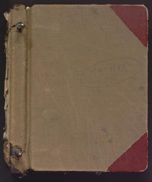 [First United Methodist Church Members Registry: 1916-1943]