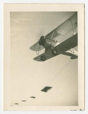 Primary view of object titled '[Biplane in Flight]'.