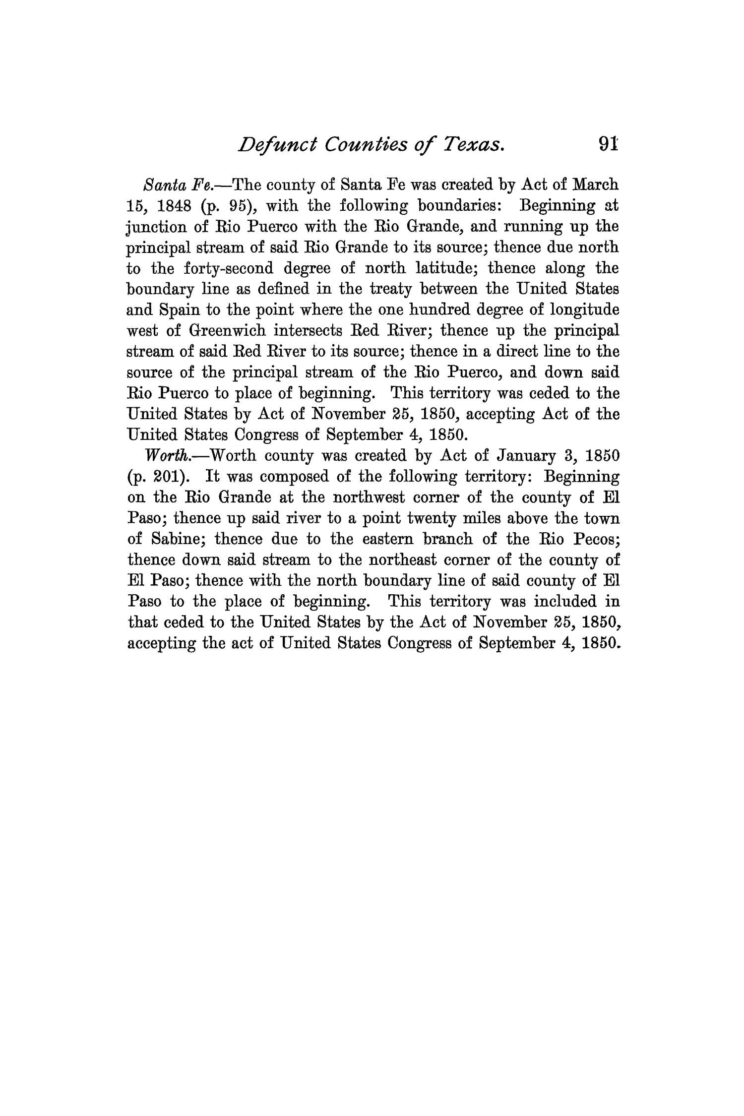 The Quarterly of the Texas State Historical Association, Volume 1, July 1897 - April, 1898                                                                                                      91
