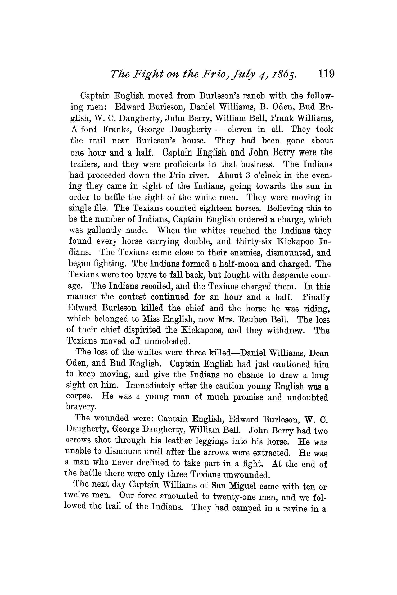 The Quarterly of the Texas State Historical Association, Volume 1, July 1897 - April, 1898                                                                                                      119