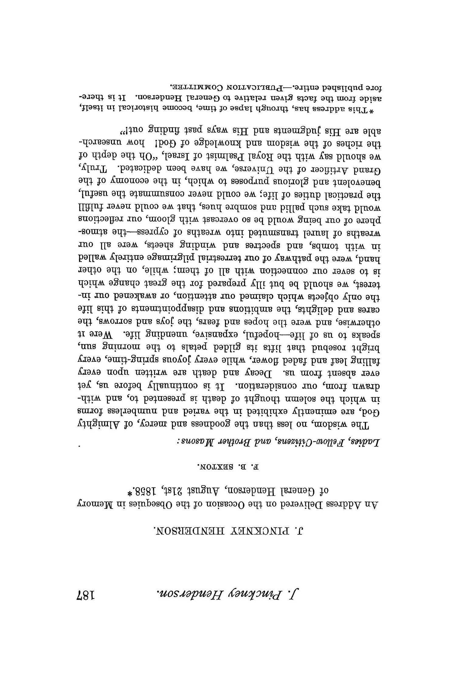 The Quarterly of the Texas State Historical Association, Volume 1, July 1897 - April, 1898                                                                                                      187