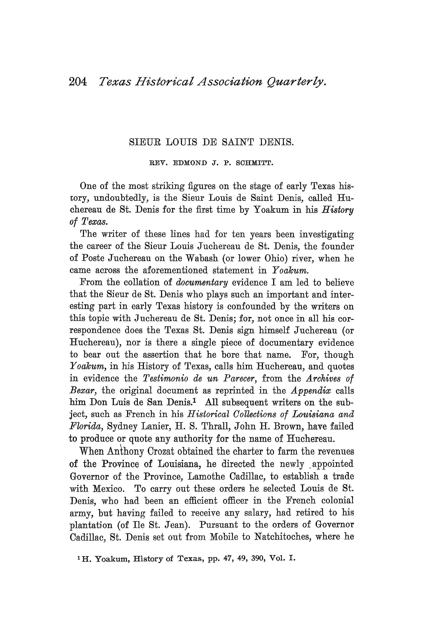 The Quarterly of the Texas State Historical Association, Volume 1, July 1897 - April, 1898                                                                                                      204