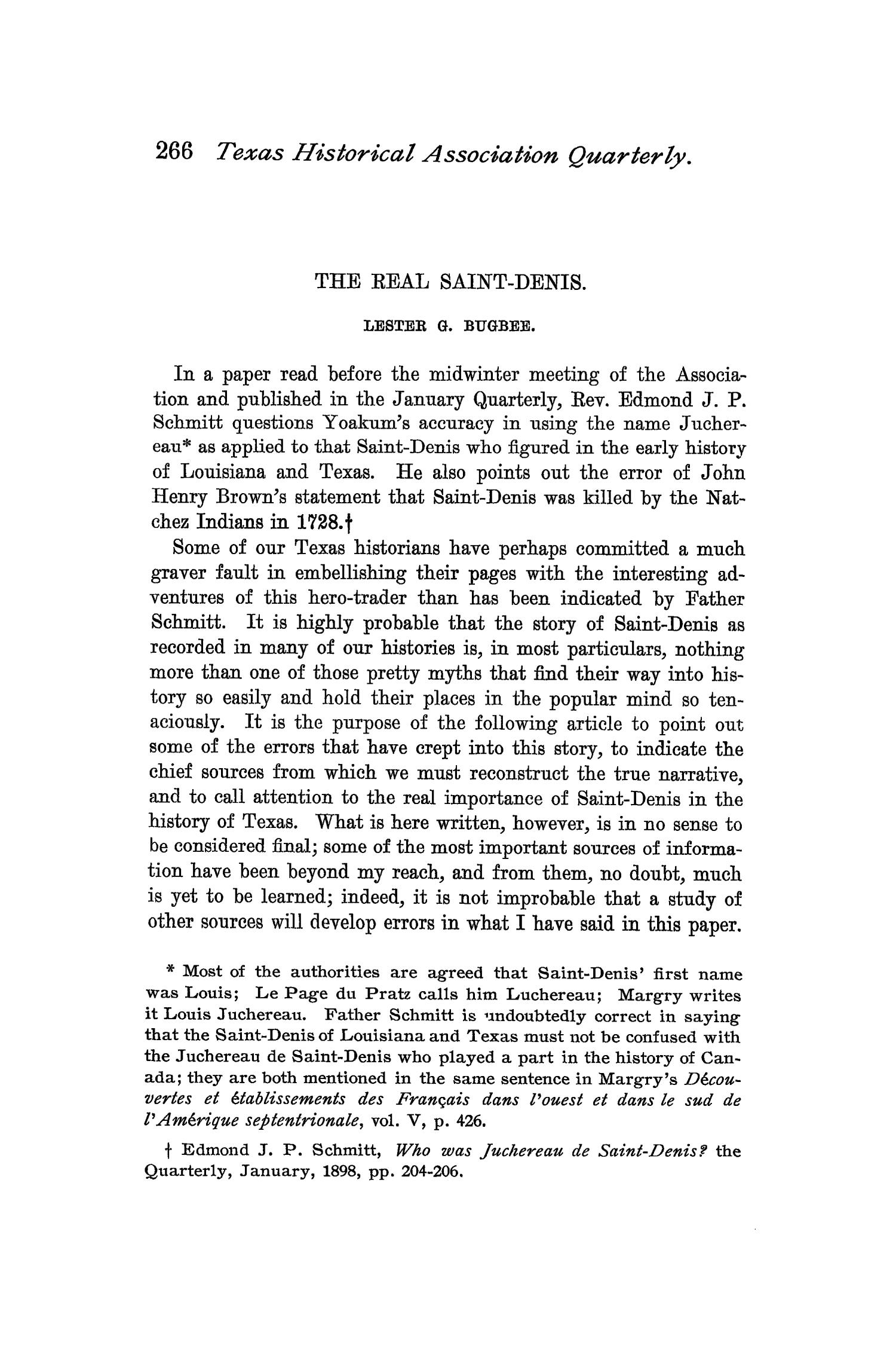 The Quarterly of the Texas State Historical Association, Volume 1, July 1897 - April, 1898                                                                                                      266
