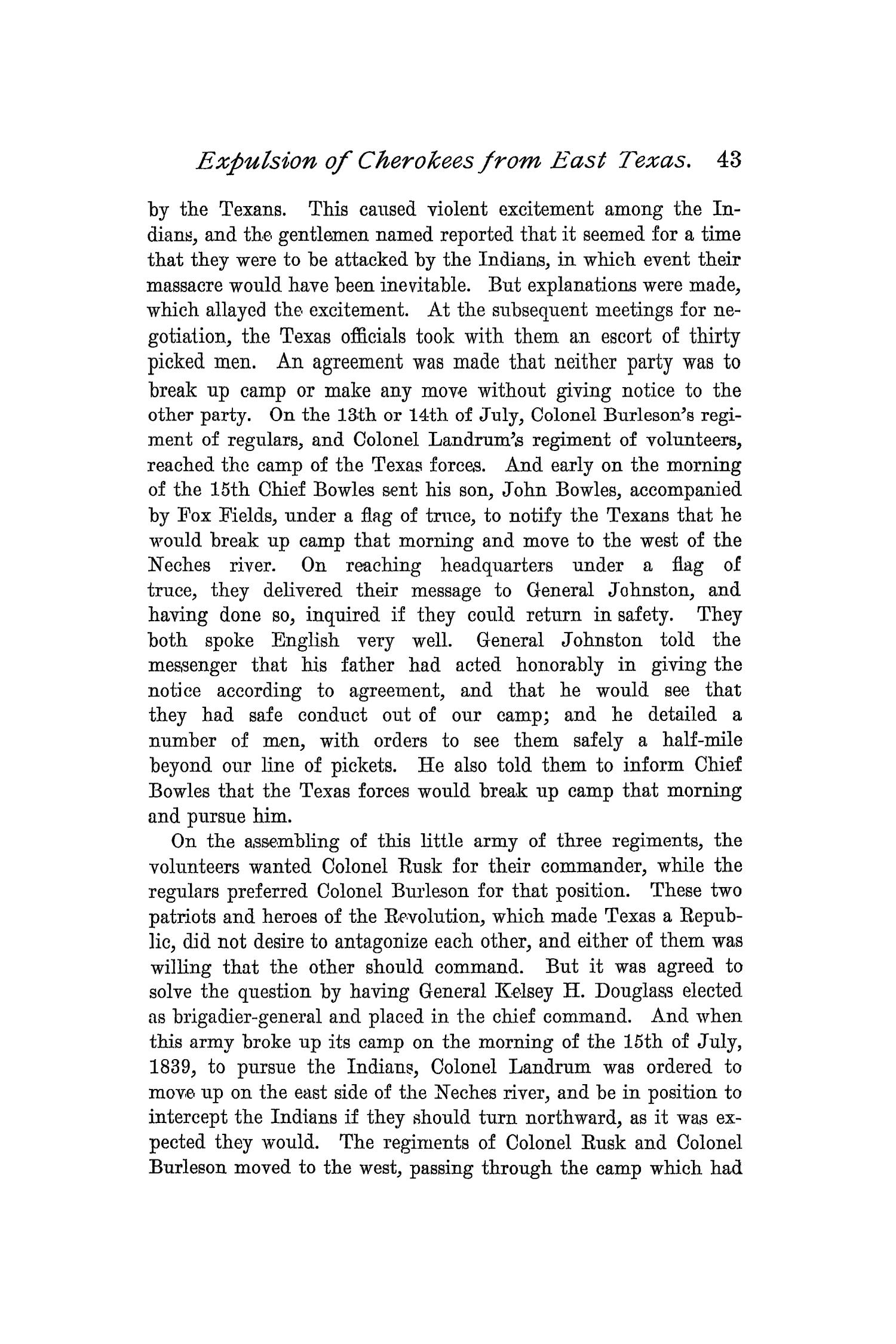 The Quarterly of the Texas State Historical Association, Volume 1, July 1897 - April, 1898                                                                                                      43