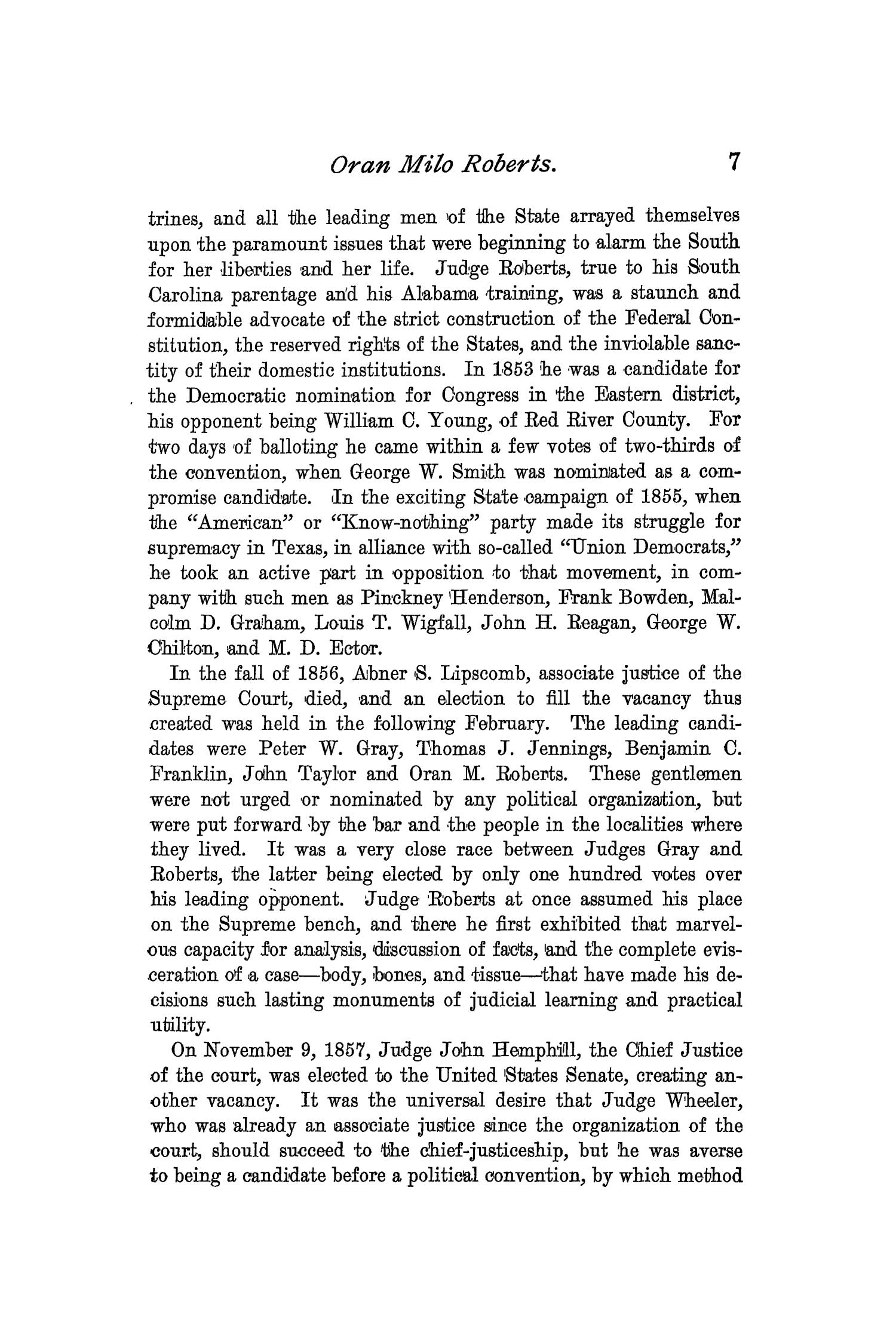 The Quarterly of the Texas State Historical Association, Volume 2, July 1898 - April, 1899                                                                                                      7