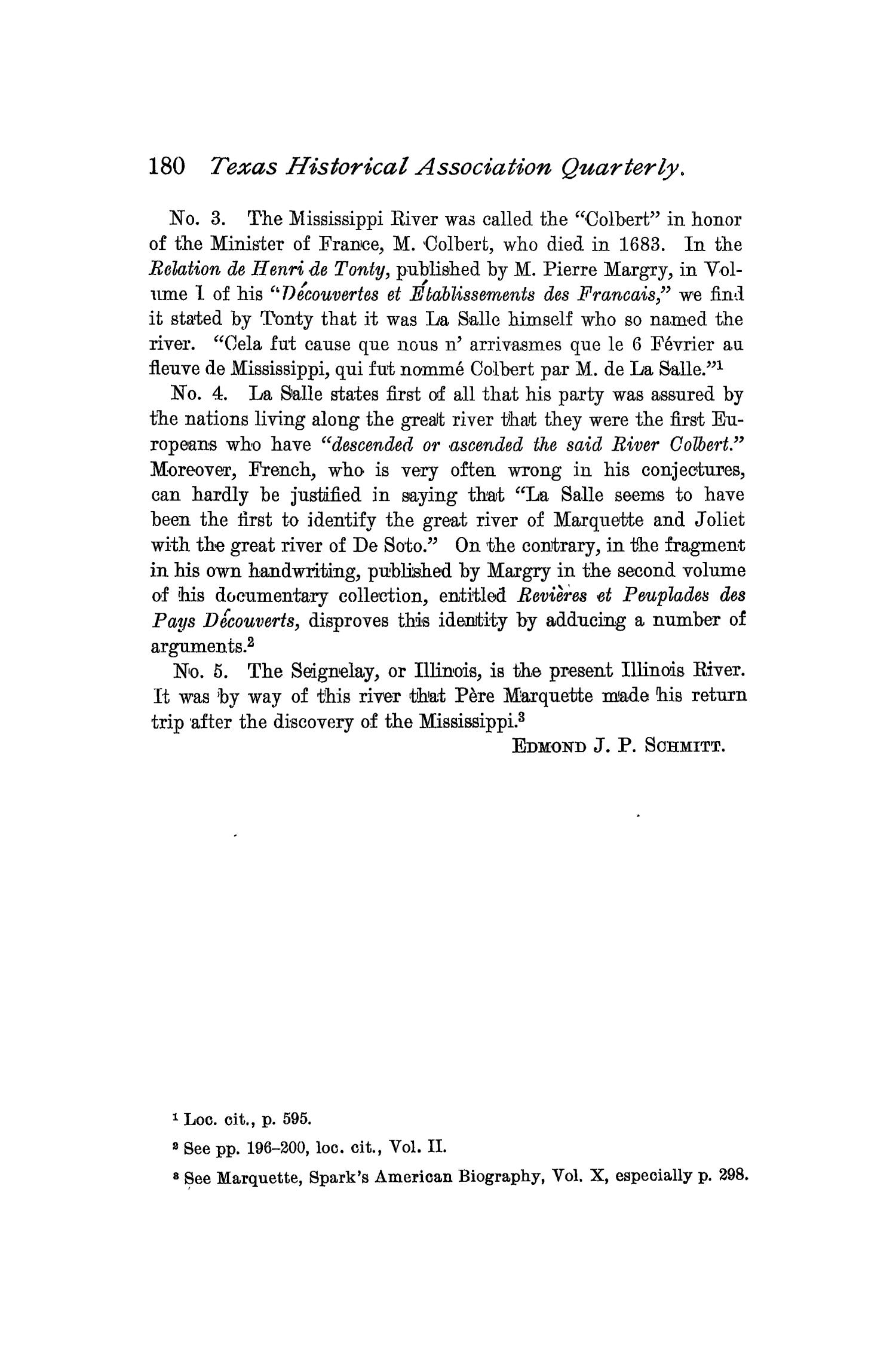 The Quarterly of the Texas State Historical Association, Volume 2, July 1898 - April, 1899                                                                                                      180