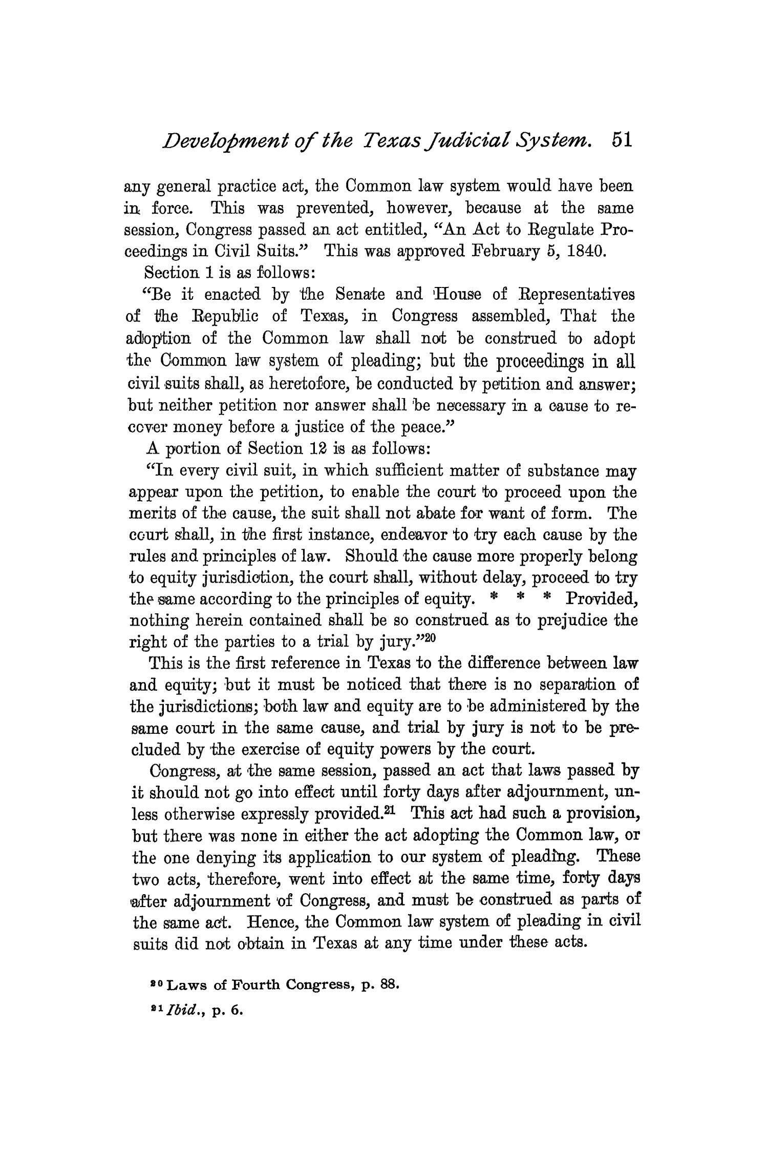 The Quarterly of the Texas State Historical Association, Volume 2, July 1898 - April, 1899                                                                                                      51