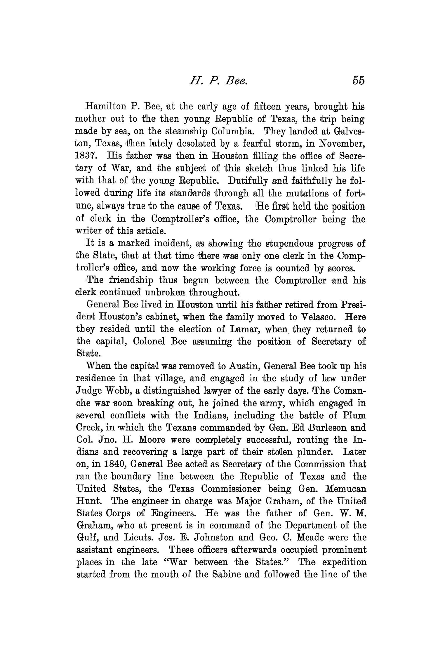 The Quarterly of the Texas State Historical Association, Volume 2, July 1898 - April, 1899                                                                                                      55
