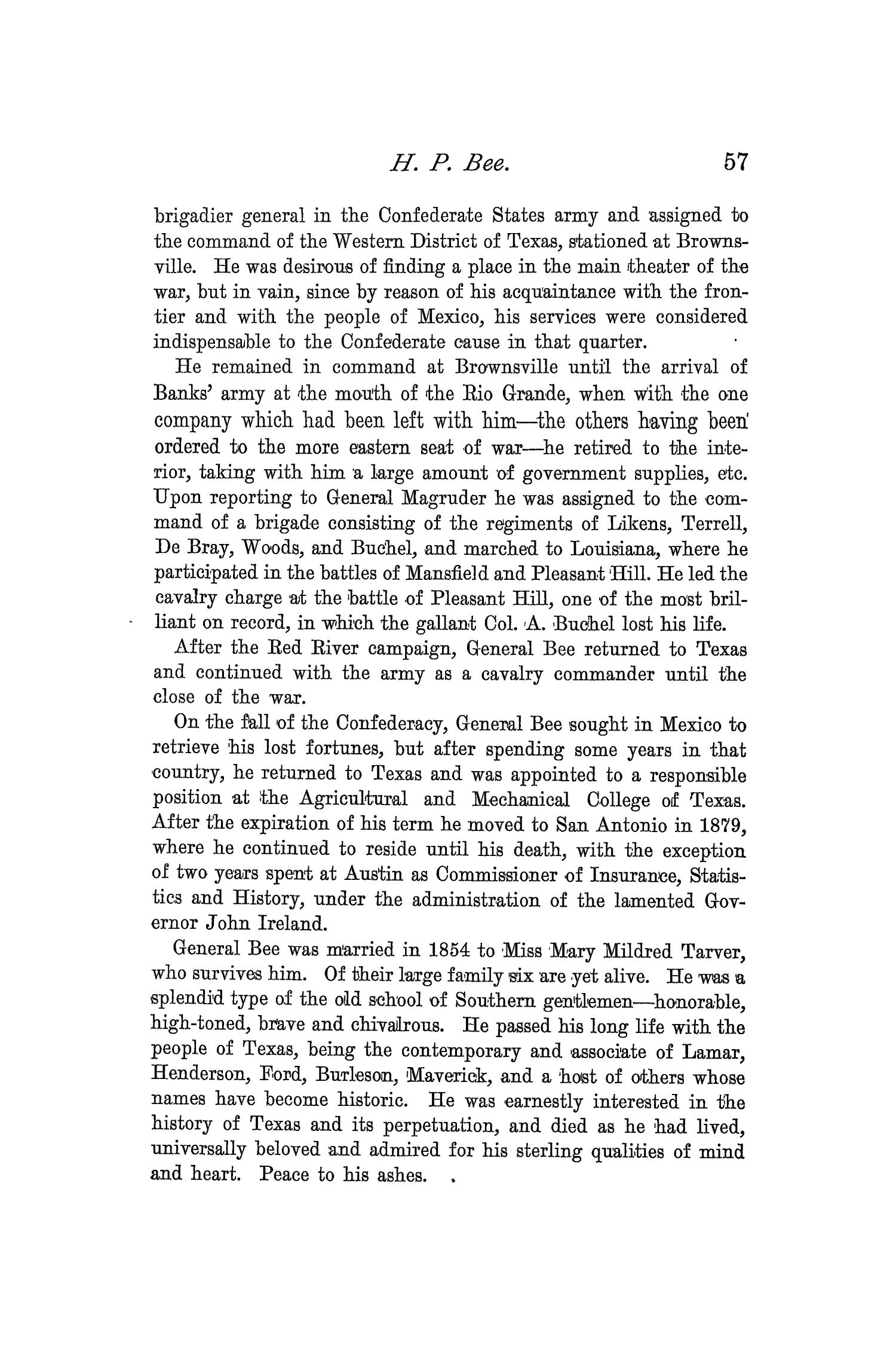 The Quarterly of the Texas State Historical Association, Volume 2, July 1898 - April, 1899                                                                                                      57