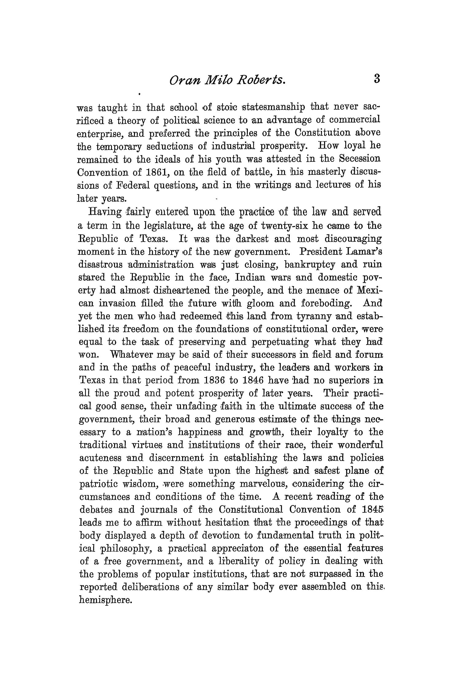 The Quarterly of the Texas State Historical Association, Volume 2, July 1898 - April, 1899                                                                                                      3