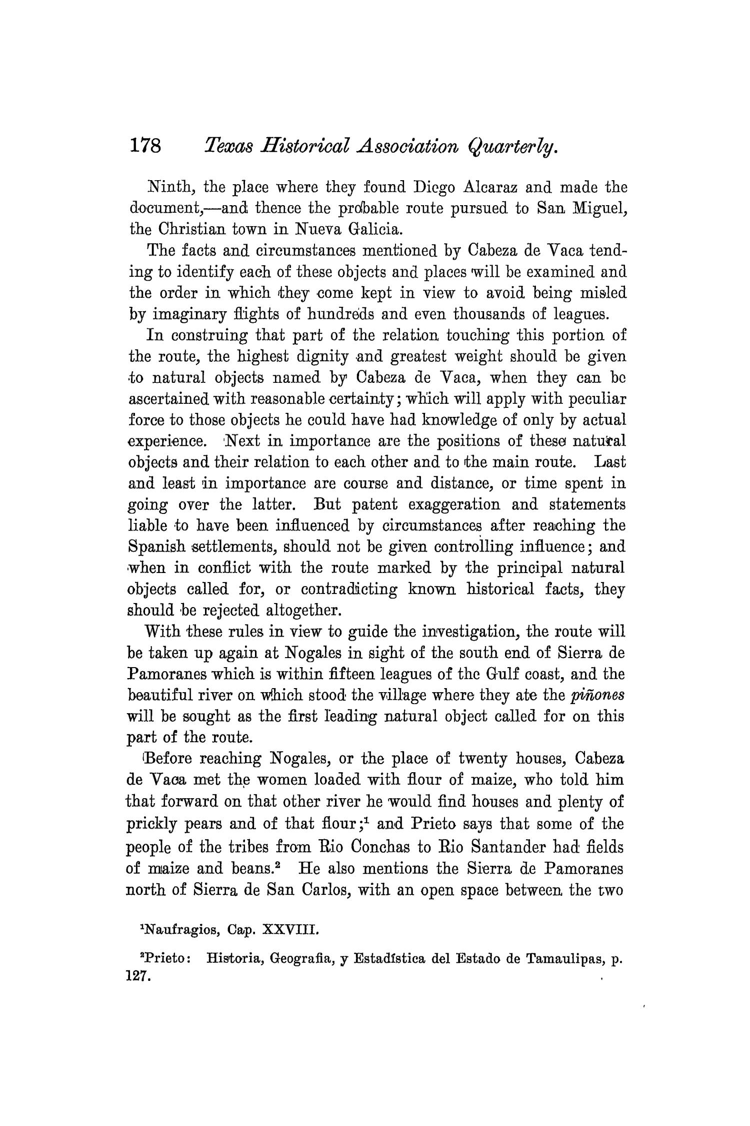 The Quarterly of the Texas State Historical Association, Volume 3, July 1899 - April, 1900                                                                                                      178
