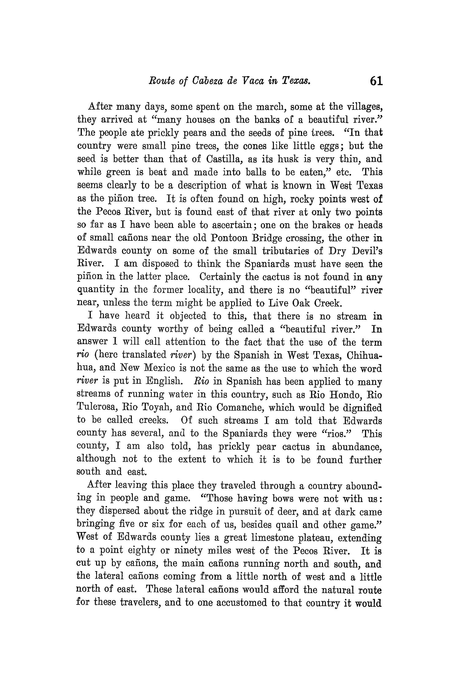 The Quarterly of the Texas State Historical Association, Volume 3, July 1899 - April, 1900                                                                                                      61