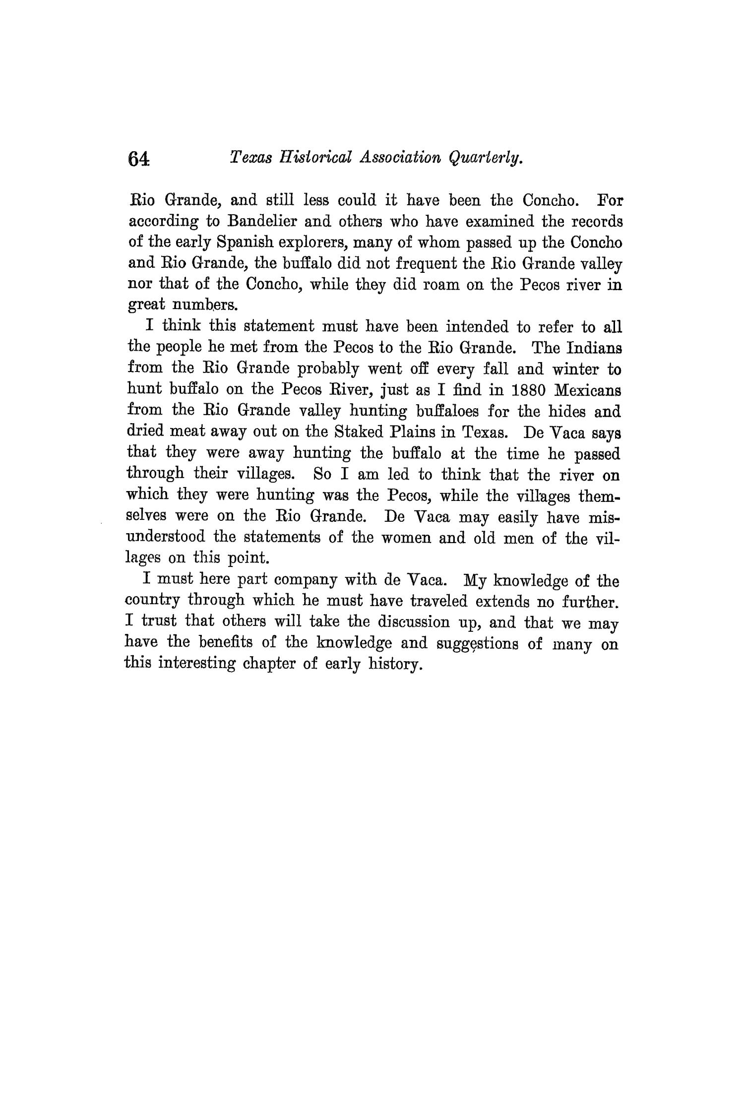The Quarterly of the Texas State Historical Association, Volume 3, July 1899 - April, 1900                                                                                                      64
