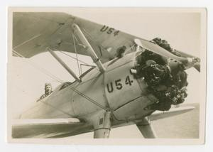 Primary view of object titled '[WASP Trainee in a PT-17 #1]'.