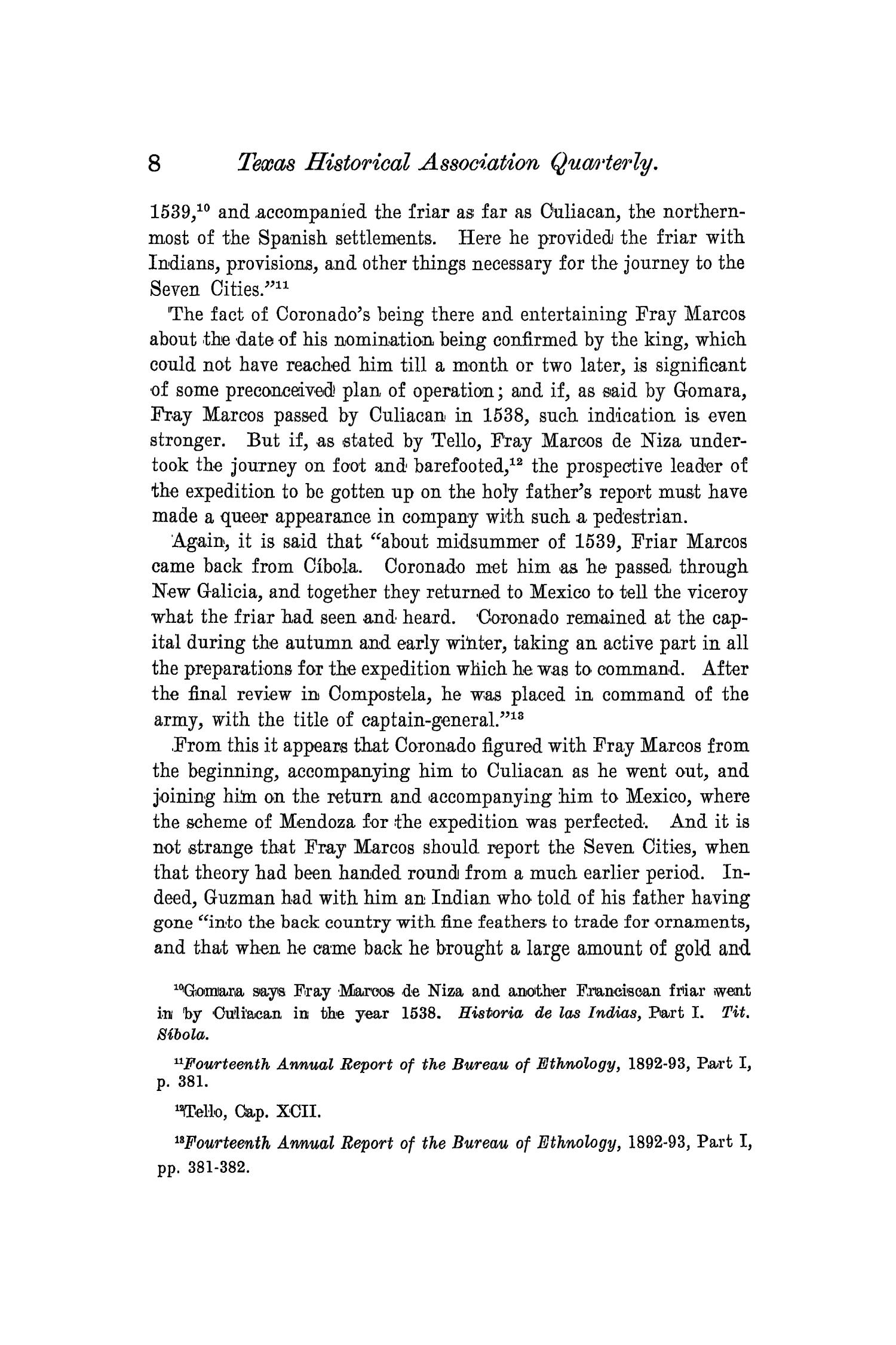 The Quarterly of the Texas State Historical Association, Volume 4, July 1900 - April, 1901                                                                                                      8