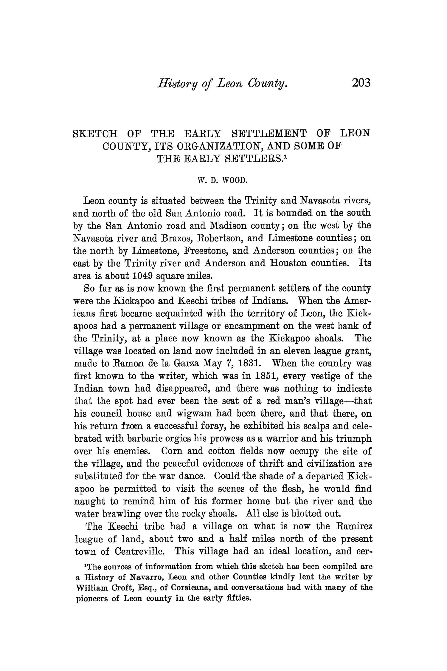 The Quarterly of the Texas State Historical Association, Volume 4, July 1900 - April, 1901                                                                                                      203