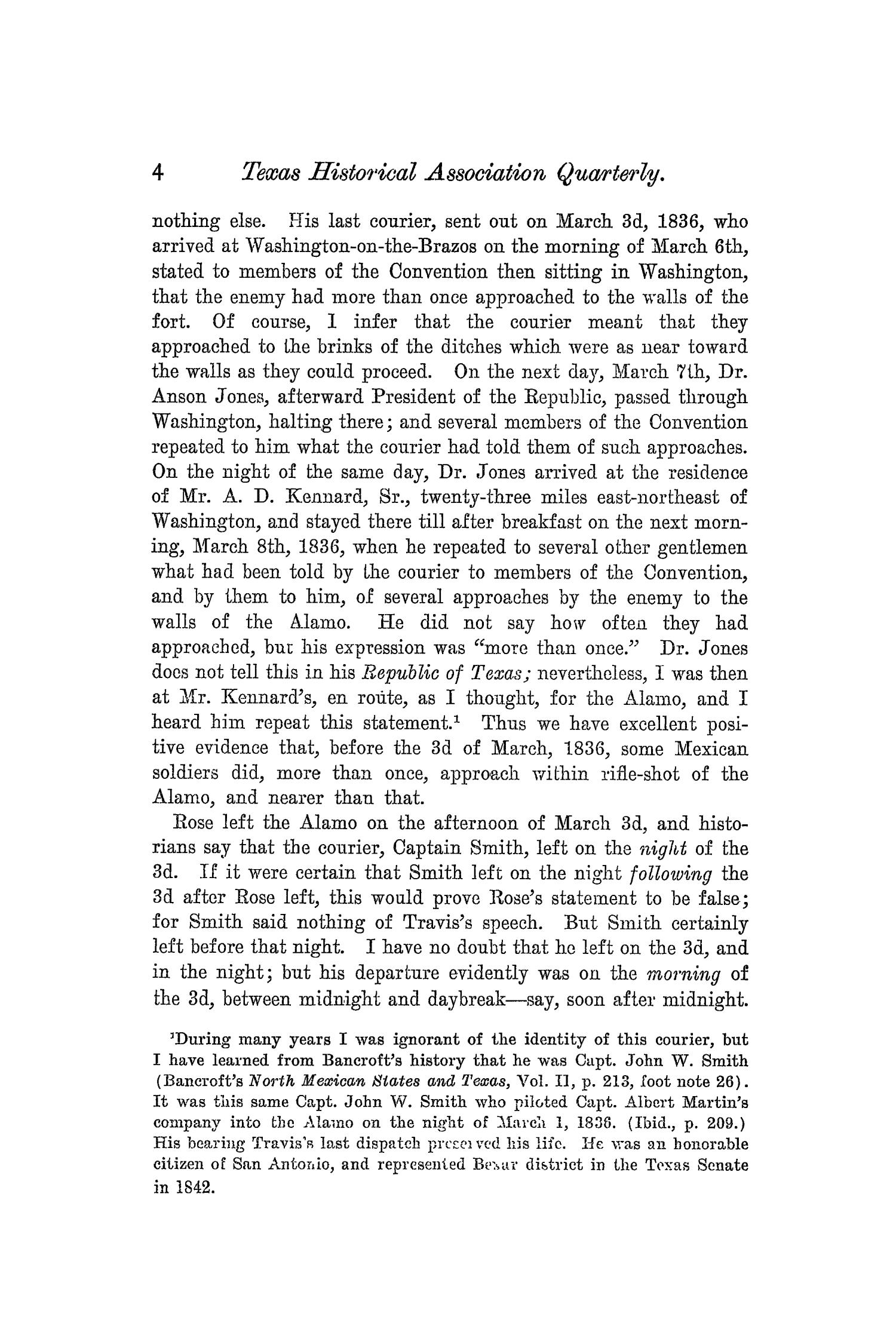 The Quarterly of the Texas State Historical Association, Volume 5, July 1901 - April, 1902                                                                                                      4