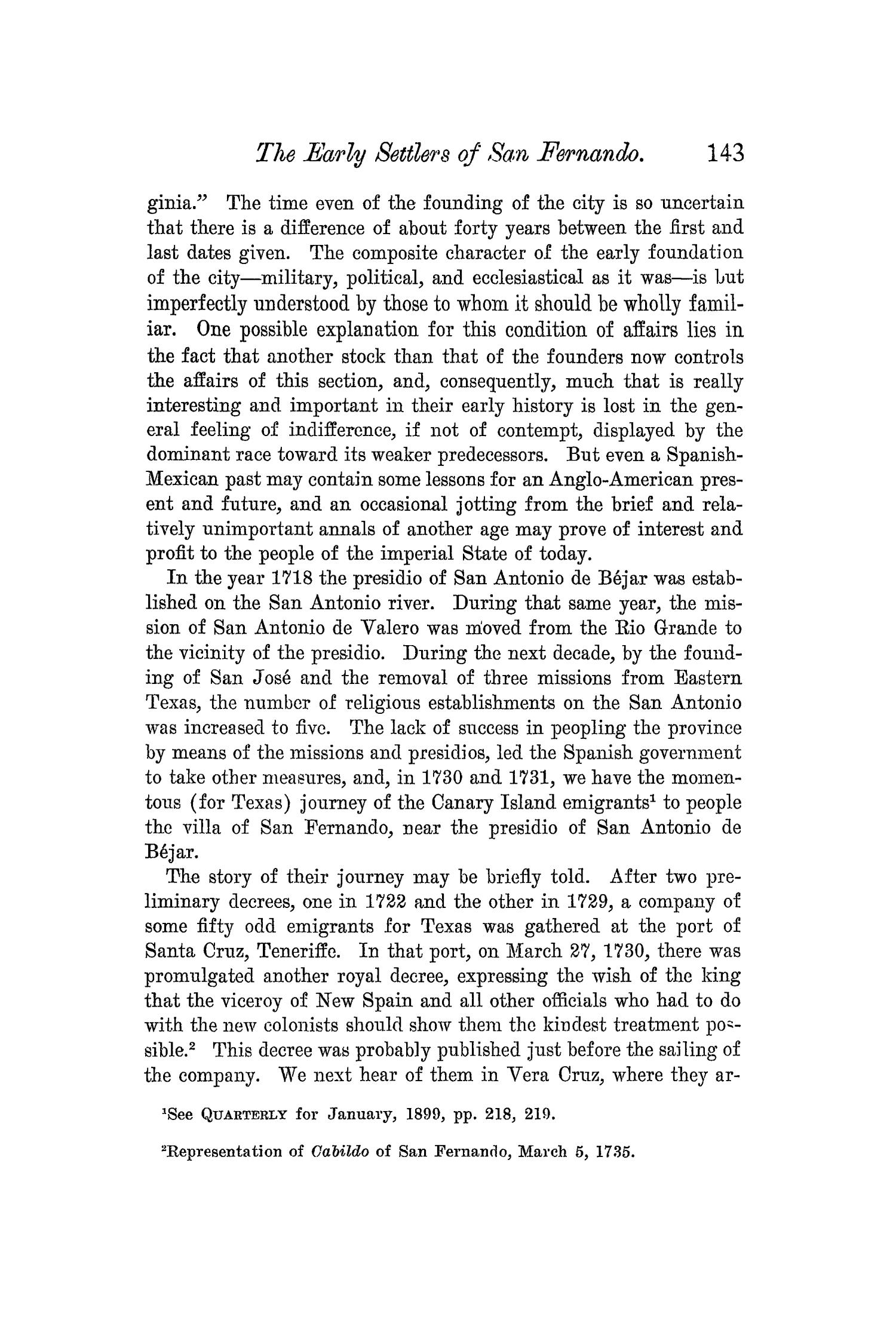 The Quarterly of the Texas State Historical Association, Volume 5, July 1901 - April, 1902                                                                                                      143