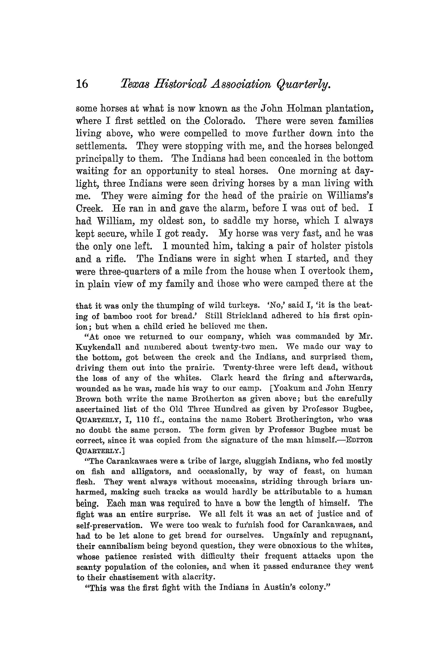 The Quarterly of the Texas State Historical Association, Volume 5, July 1901 - April, 1902                                                                                                      16
