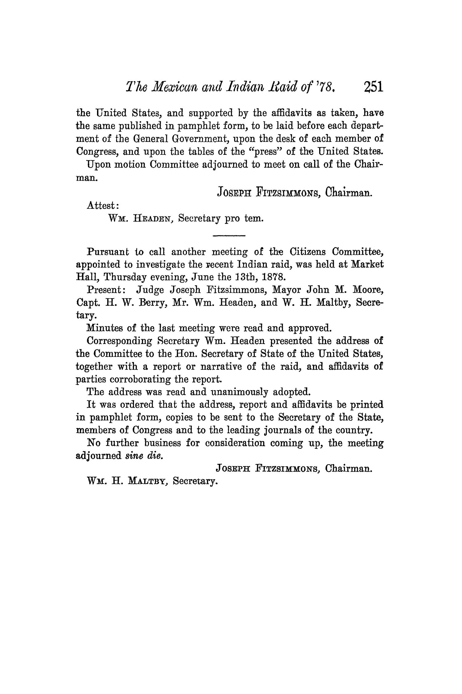 The Quarterly of the Texas State Historical Association, Volume 5, July 1901 - April, 1902                                                                                                      251
