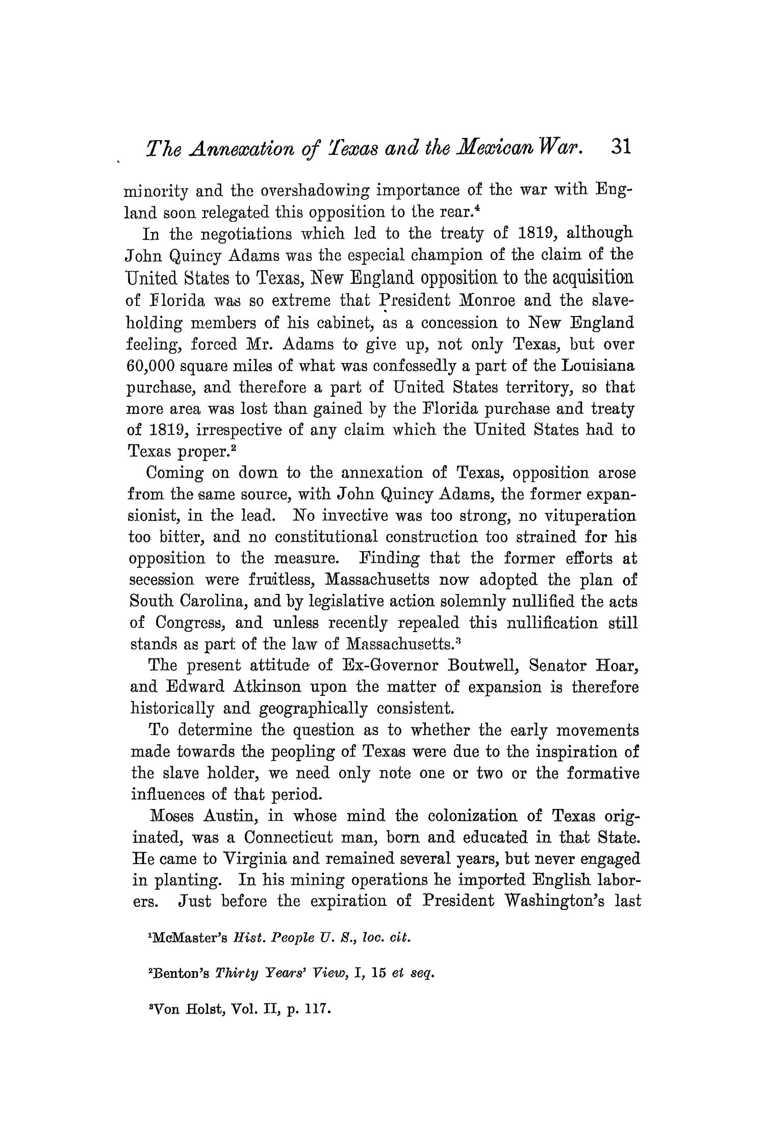 The Quarterly of the Texas State Historical Association, Volume 5, July 1901 - April, 1902                                                                                                      31