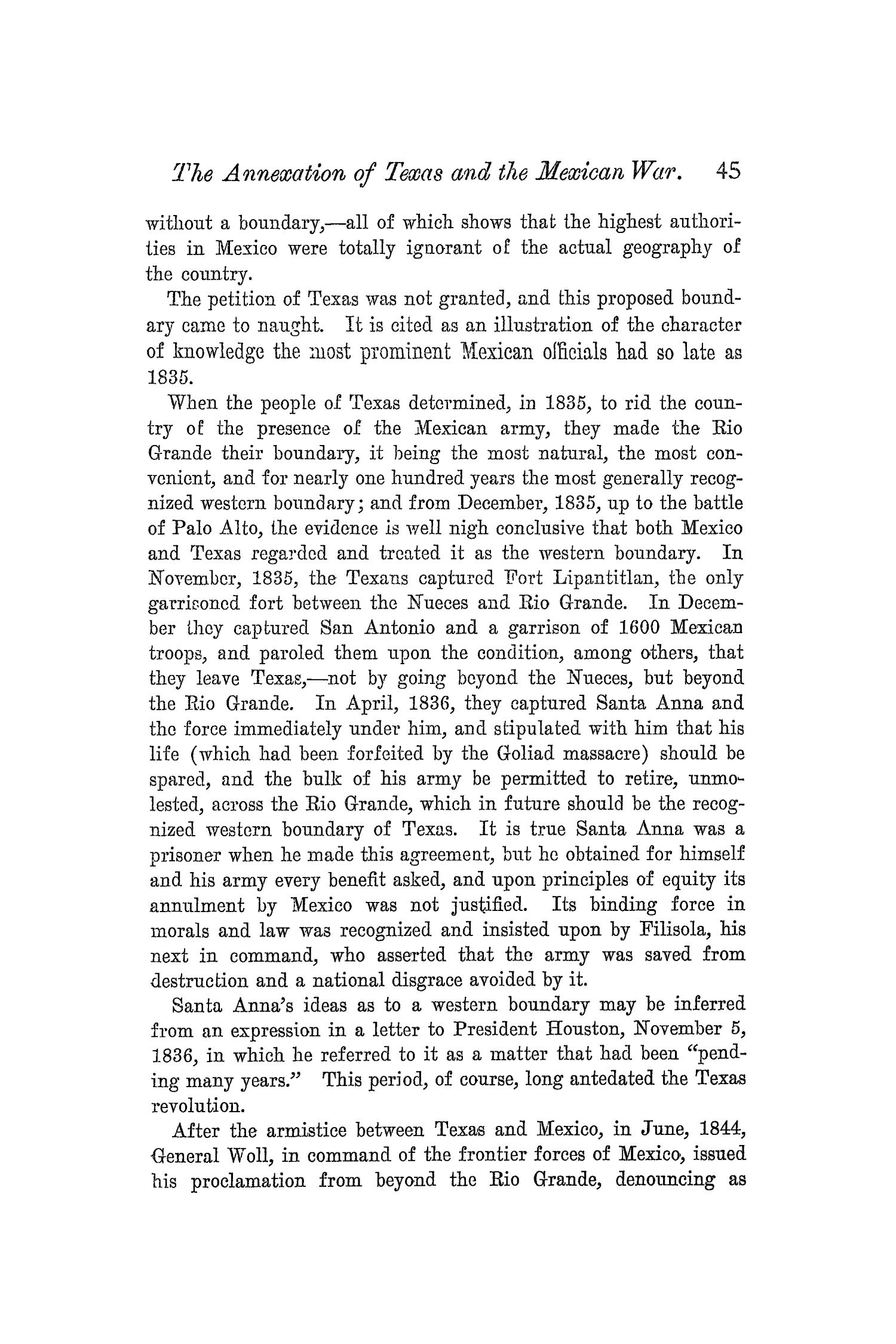 The Quarterly of the Texas State Historical Association, Volume 5, July 1901 - April, 1902                                                                                                      45