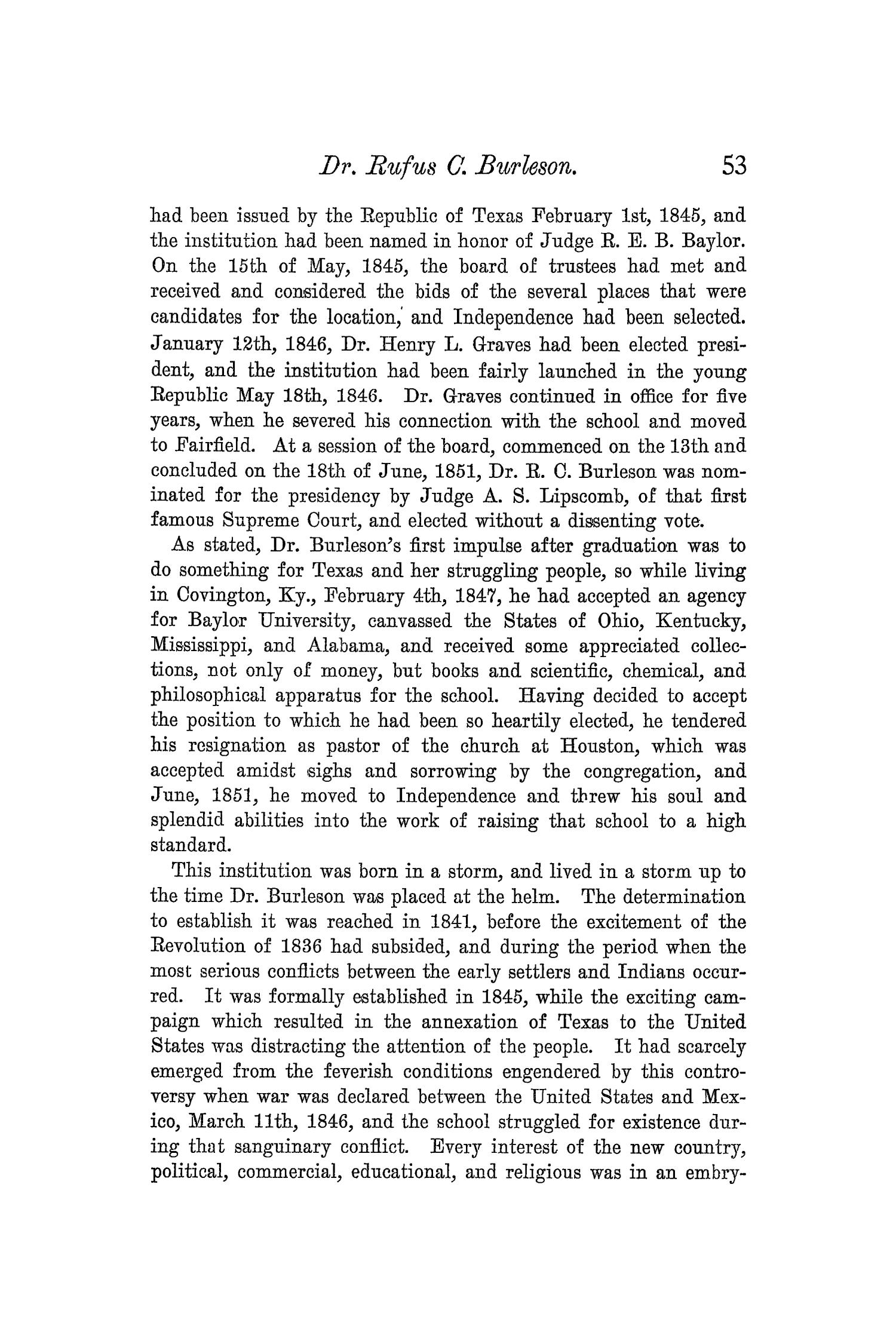 The Quarterly of the Texas State Historical Association, Volume 5, July 1901 - April, 1902                                                                                                      53