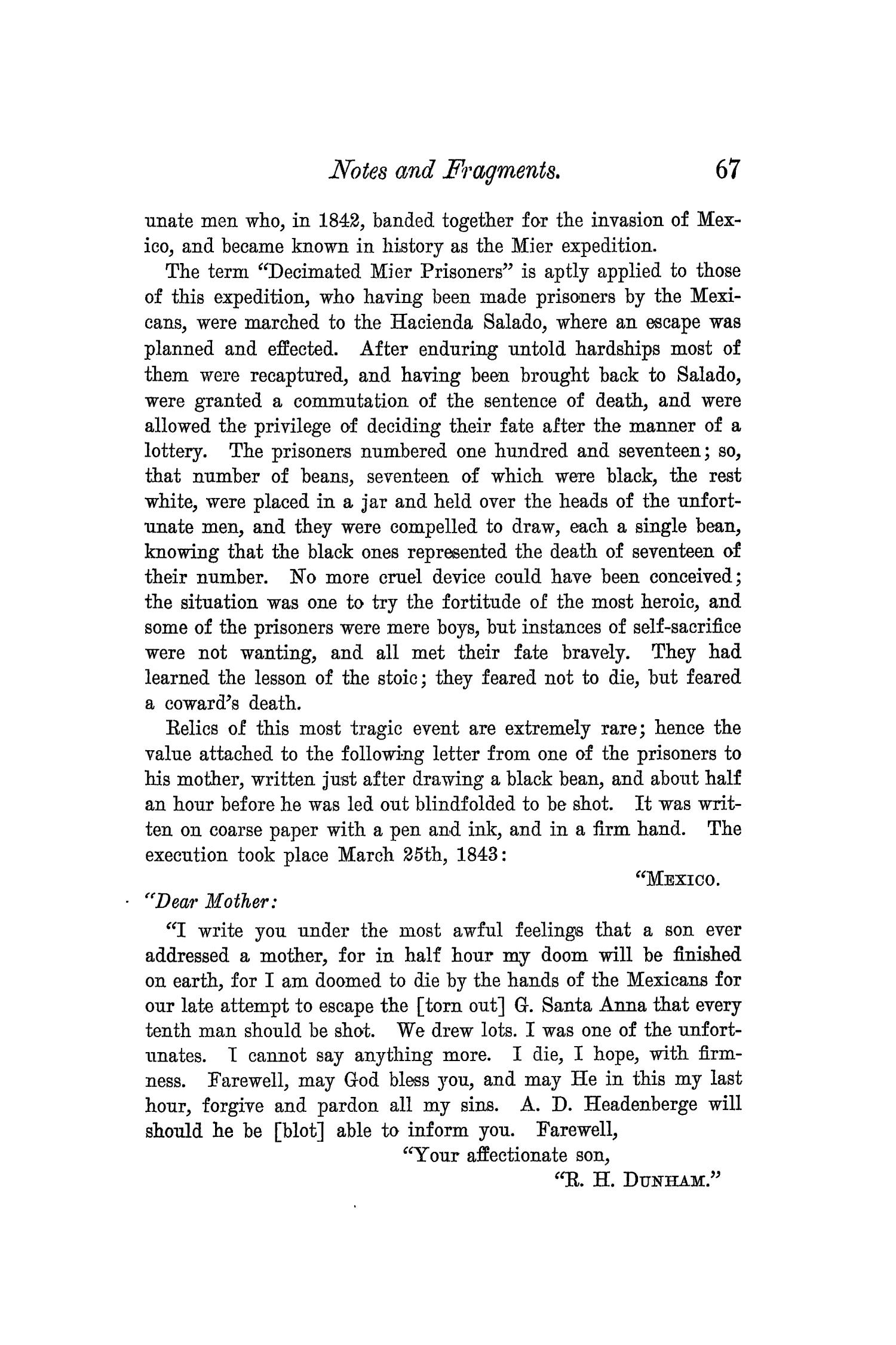 The Quarterly of the Texas State Historical Association, Volume 5, July 1901 - April, 1902                                                                                                      67