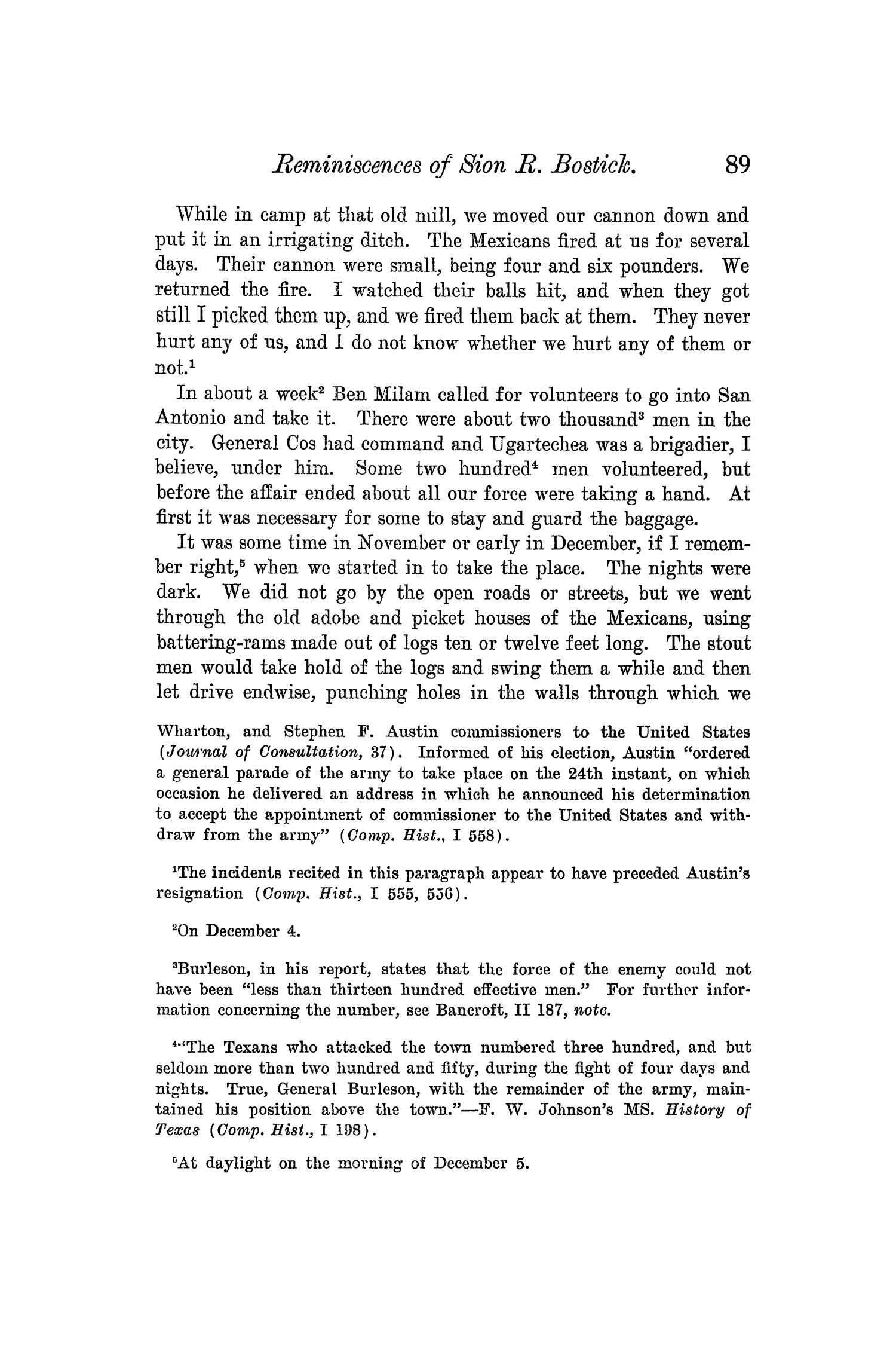 The Quarterly of the Texas State Historical Association, Volume 5, July 1901 - April, 1902                                                                                                      89
