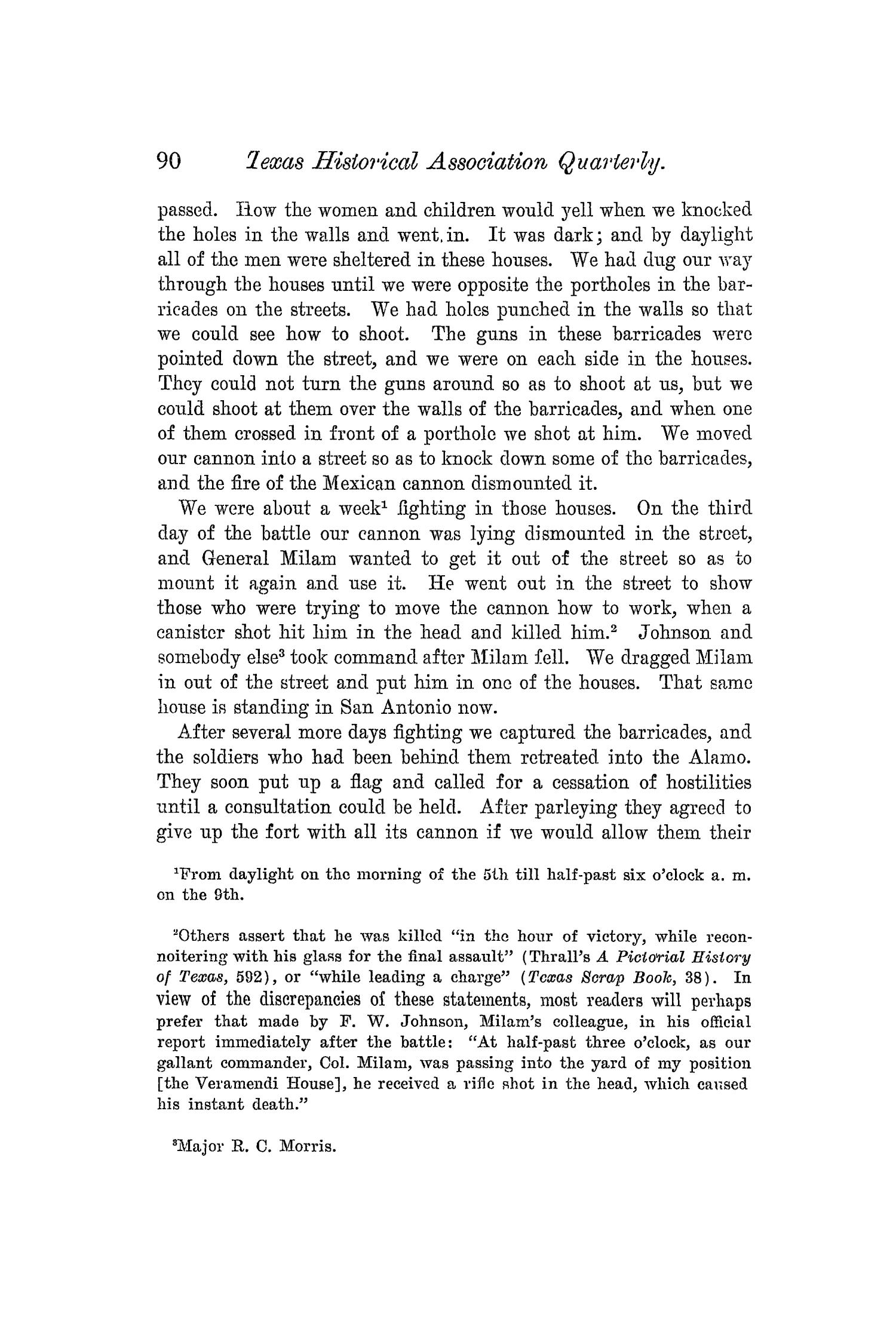 The Quarterly of the Texas State Historical Association, Volume 5, July 1901 - April, 1902                                                                                                      90