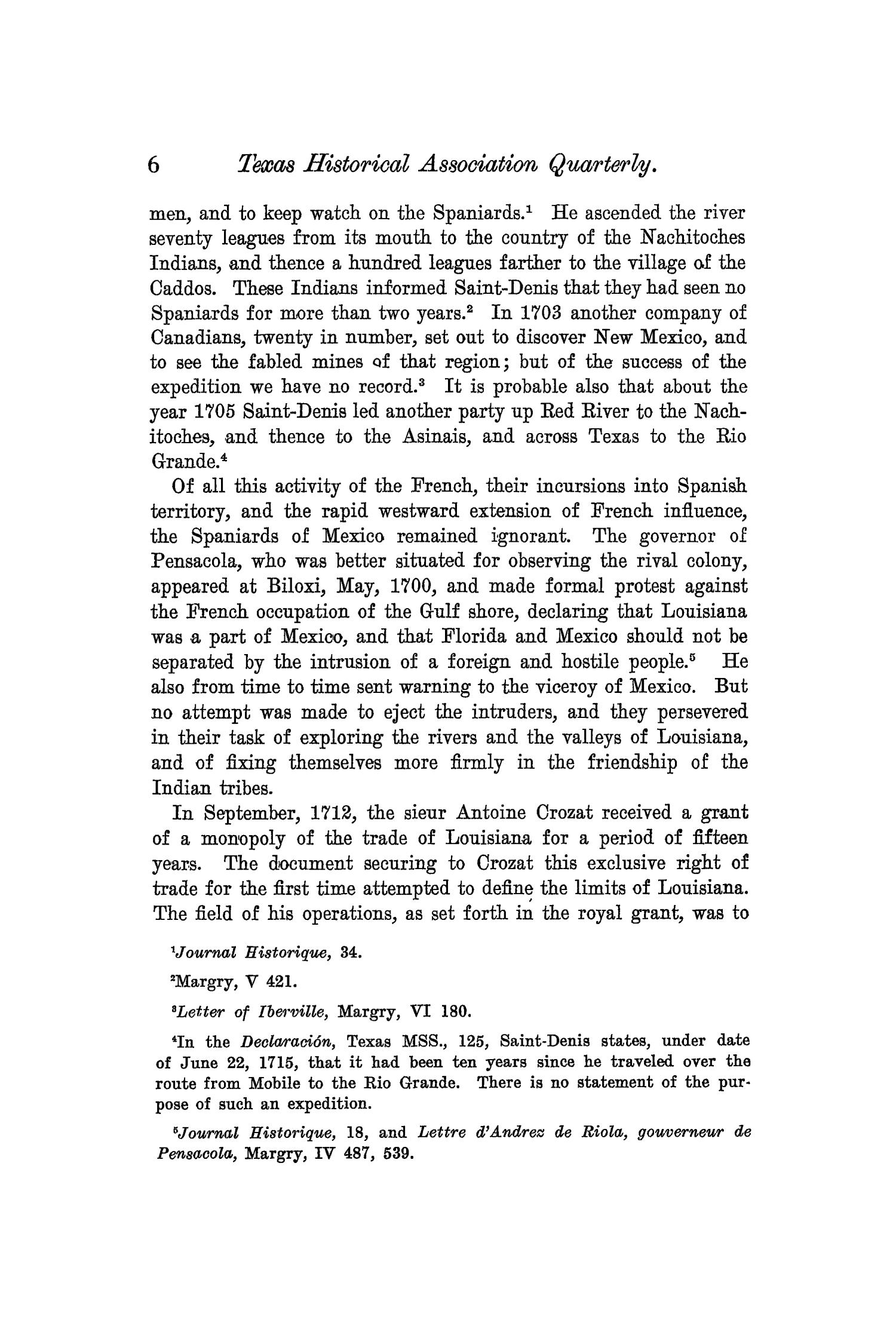 The Quarterly of the Texas State Historical Association, Volume 6, July 1902 - April, 1903                                                                                                      6