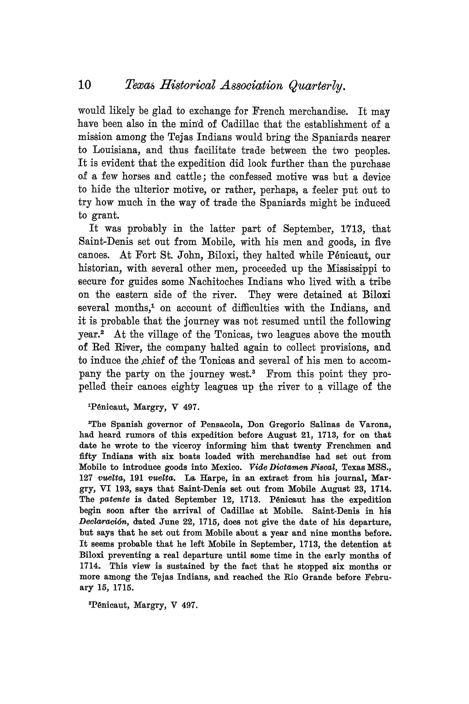 The Quarterly of the Texas State Historical Association, Volume 6, July 1902 - April, 1903                                                                                                      10
