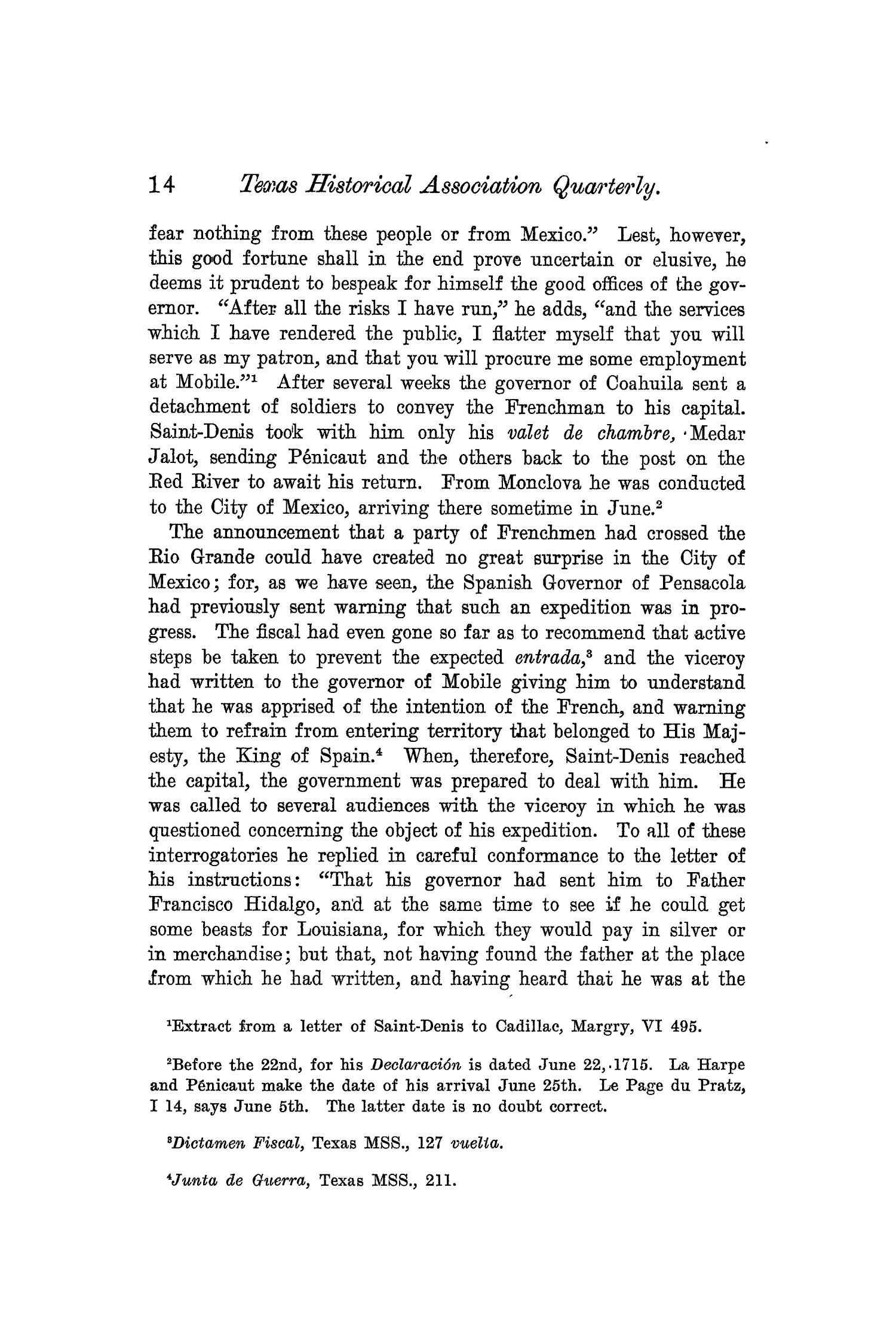 The Quarterly of the Texas State Historical Association, Volume 6, July 1902 - April, 1903                                                                                                      14