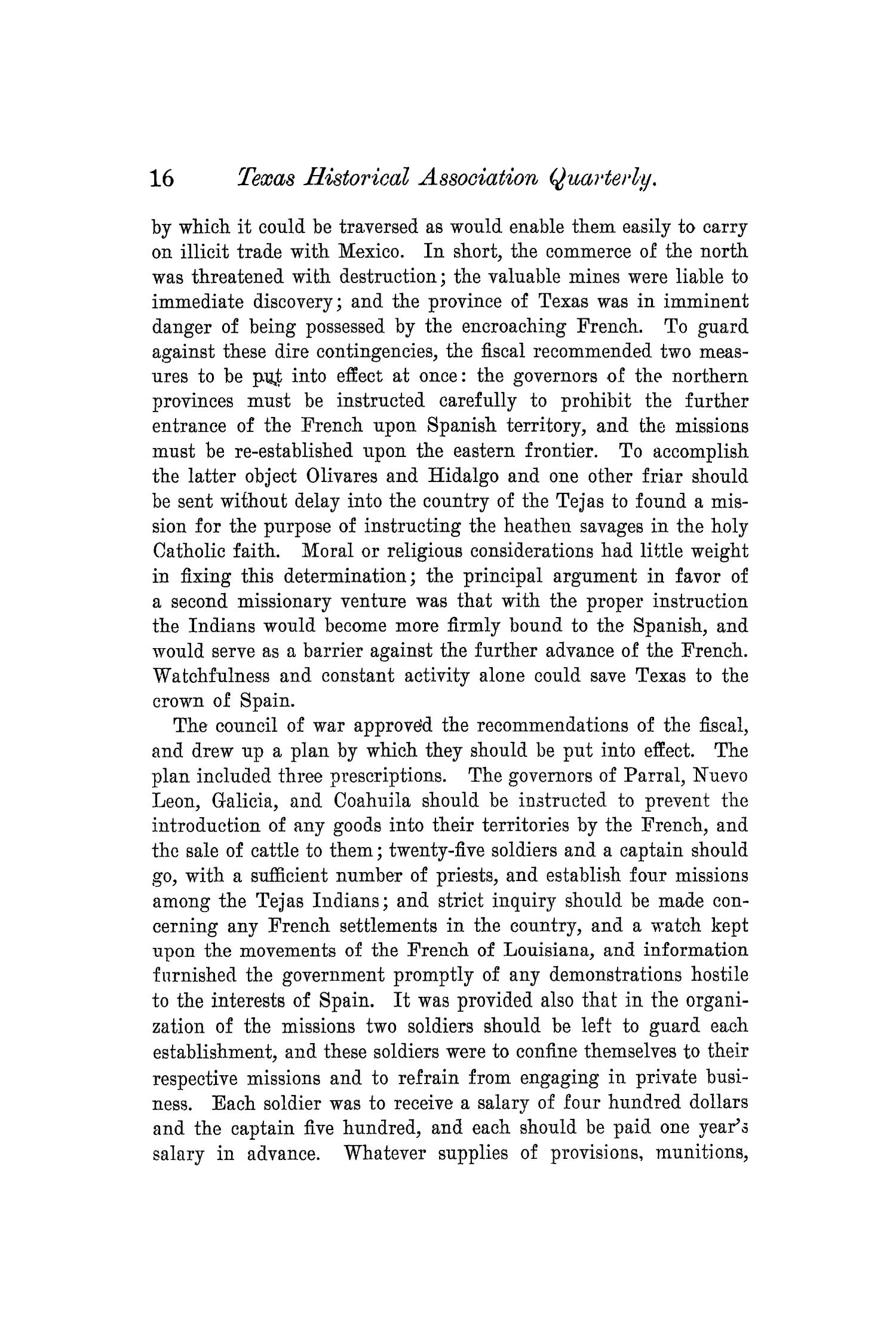 The Quarterly of the Texas State Historical Association, Volume 6, July 1902 - April, 1903                                                                                                      16