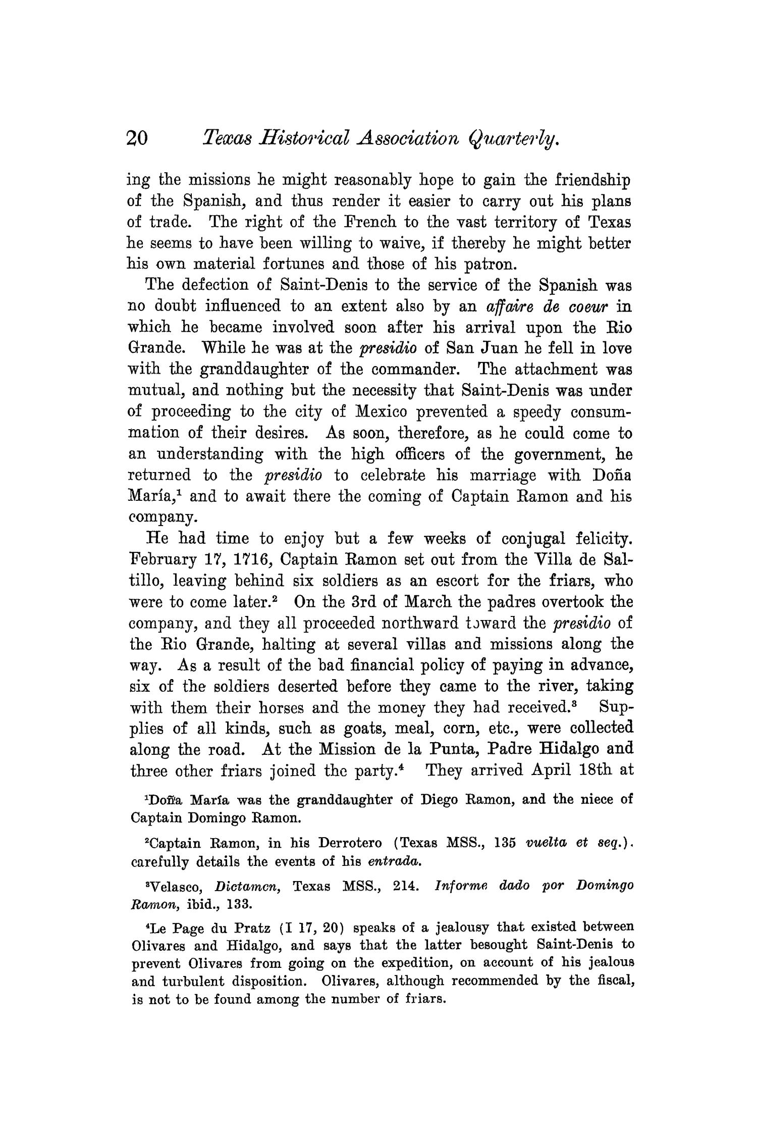 The Quarterly of the Texas State Historical Association, Volume 6, July 1902 - April, 1903                                                                                                      20