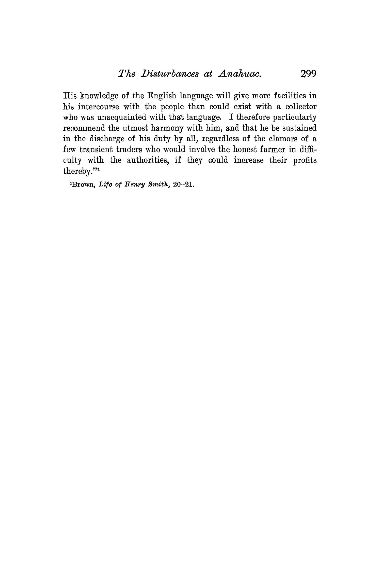 The Quarterly of the Texas State Historical Association, Volume 6, July 1902 - April, 1903                                                                                                      299