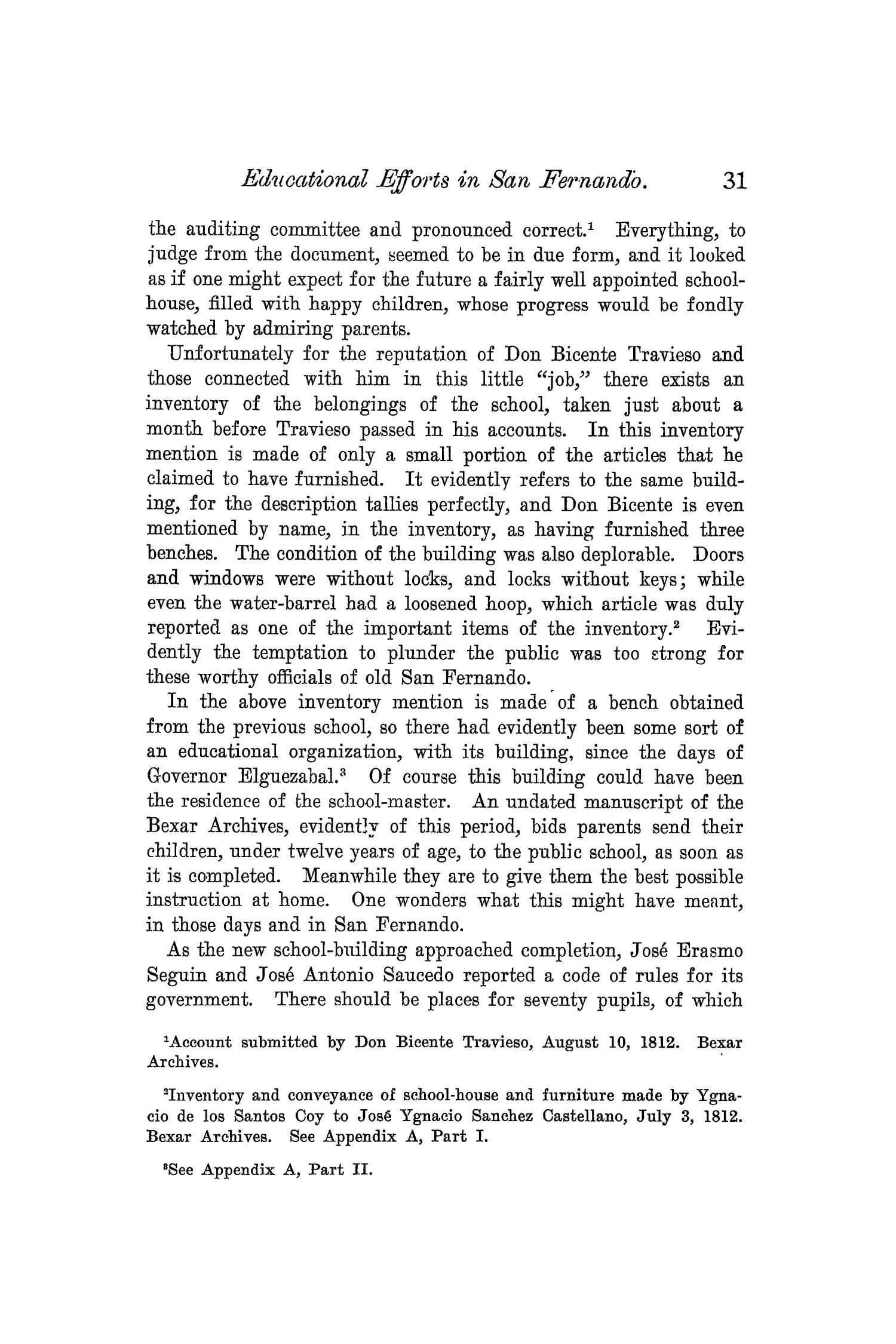The Quarterly of the Texas State Historical Association, Volume 6, July 1902 - April, 1903                                                                                                      31