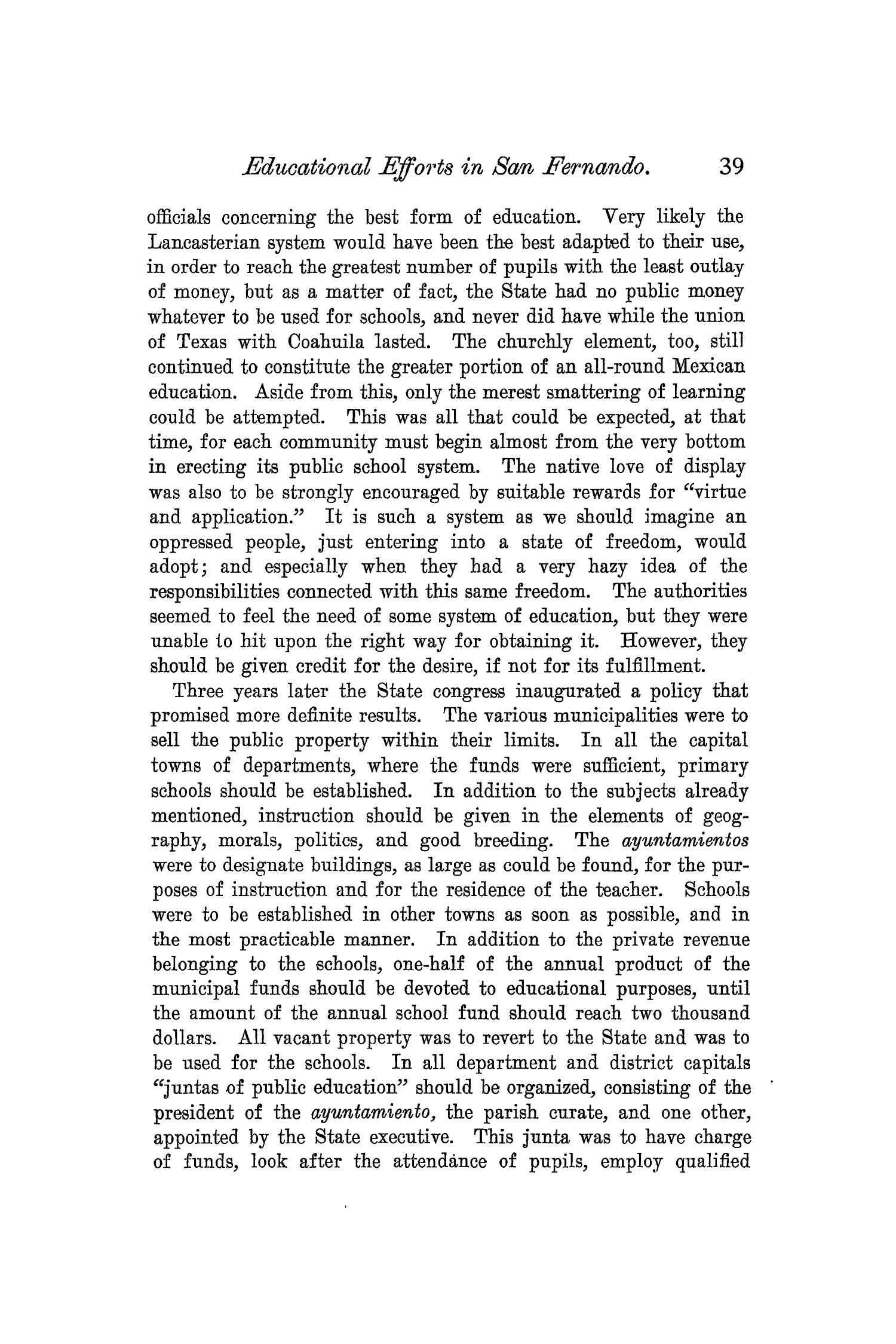 The Quarterly of the Texas State Historical Association, Volume 6, July 1902 - April, 1903                                                                                                      39
