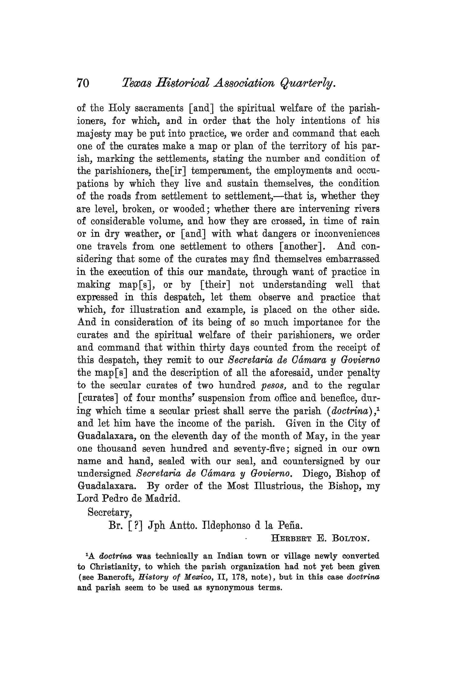 The Quarterly of the Texas State Historical Association, Volume 6, July 1902 - April, 1903                                                                                                      70