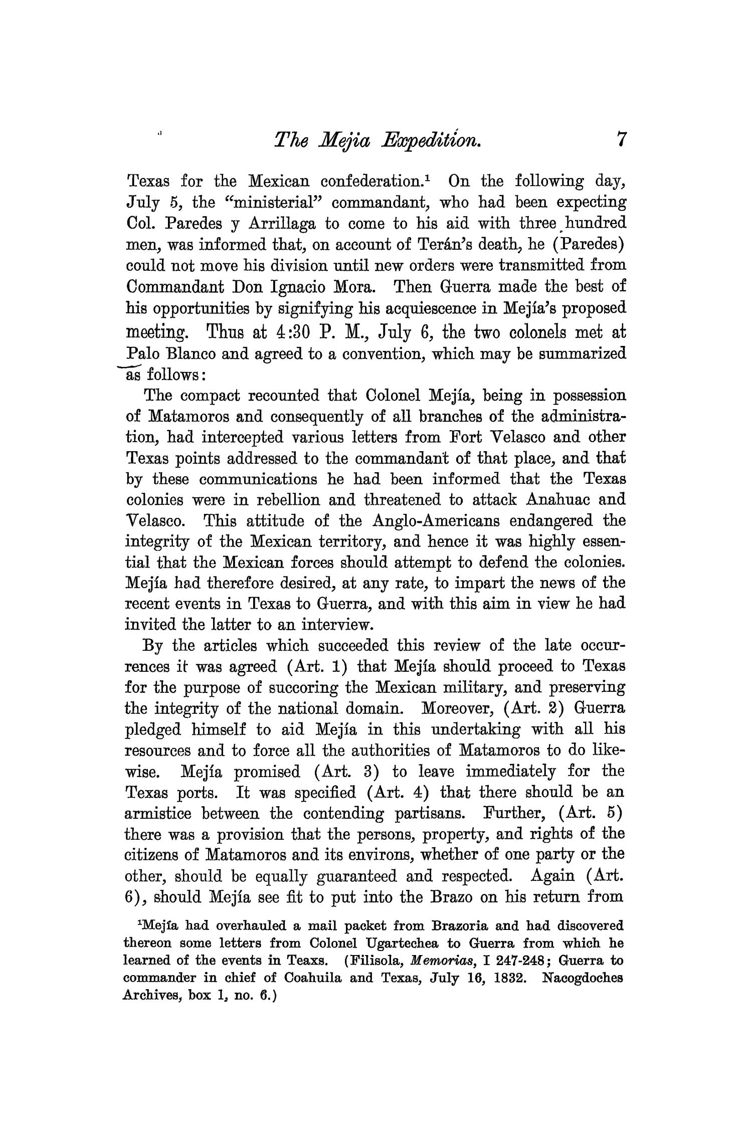 The Quarterly of the Texas State Historical Association, Volume 7, July 1903 - April, 1904                                                                                                      7