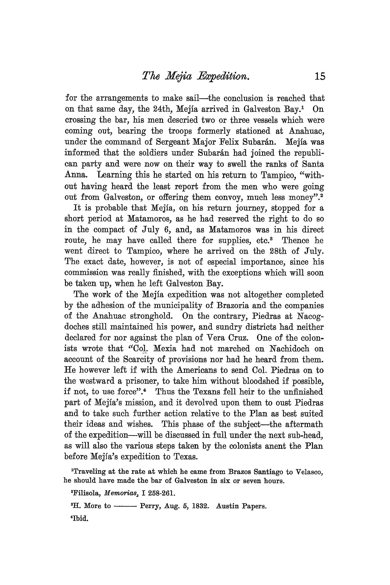 The Quarterly of the Texas State Historical Association, Volume 7, July 1903 - April, 1904                                                                                                      15