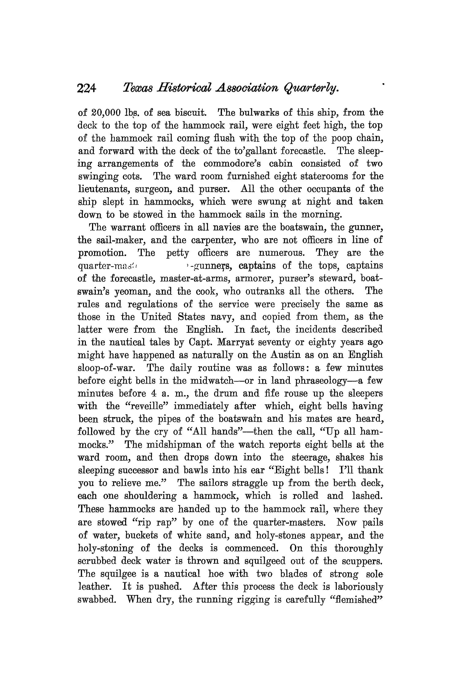 The Quarterly of the Texas State Historical Association, Volume 7, July 1903 - April, 1904                                                                                                      224