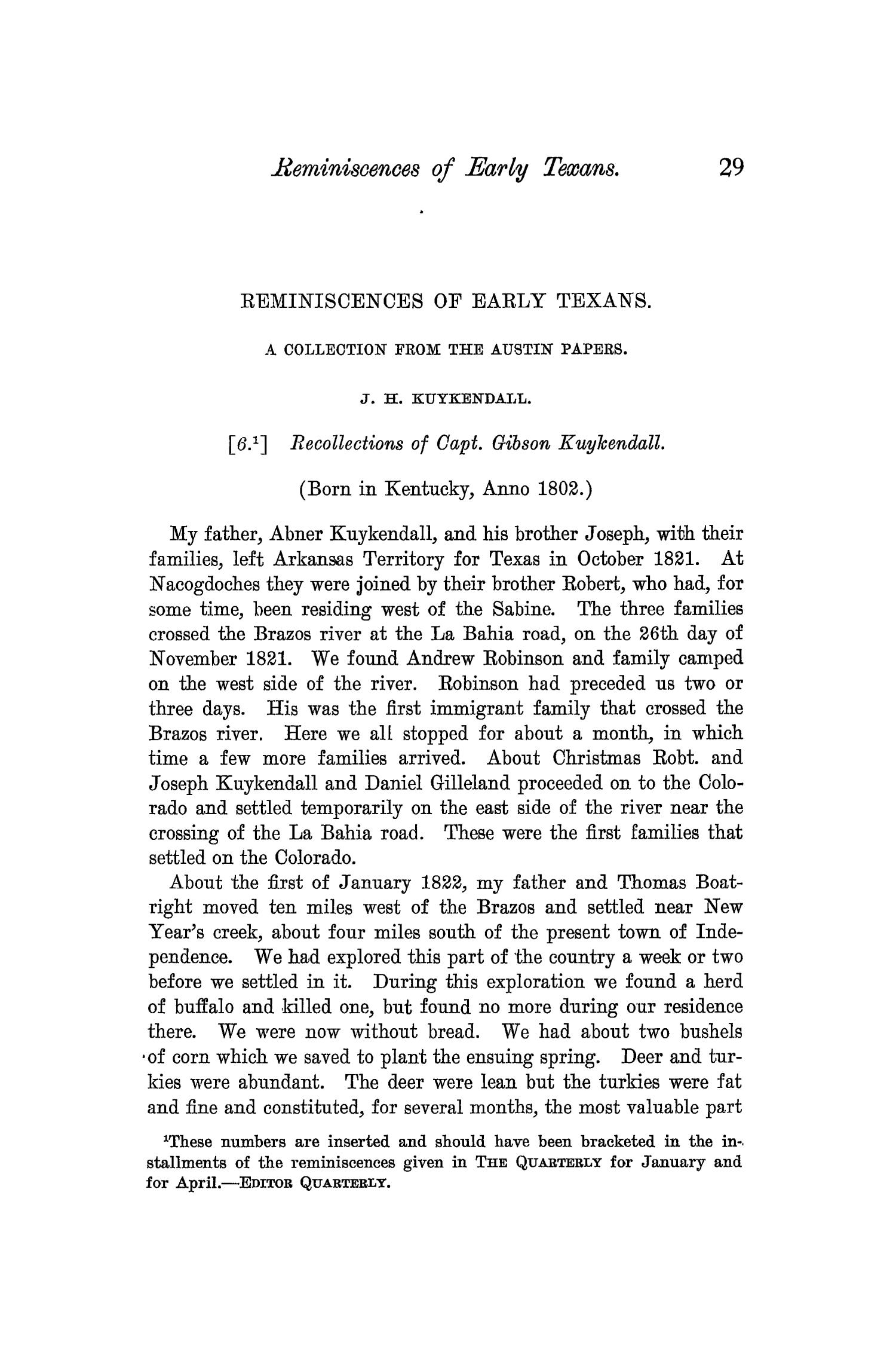 The Quarterly of the Texas State Historical Association, Volume 7, July 1903 - April, 1904                                                                                                      29