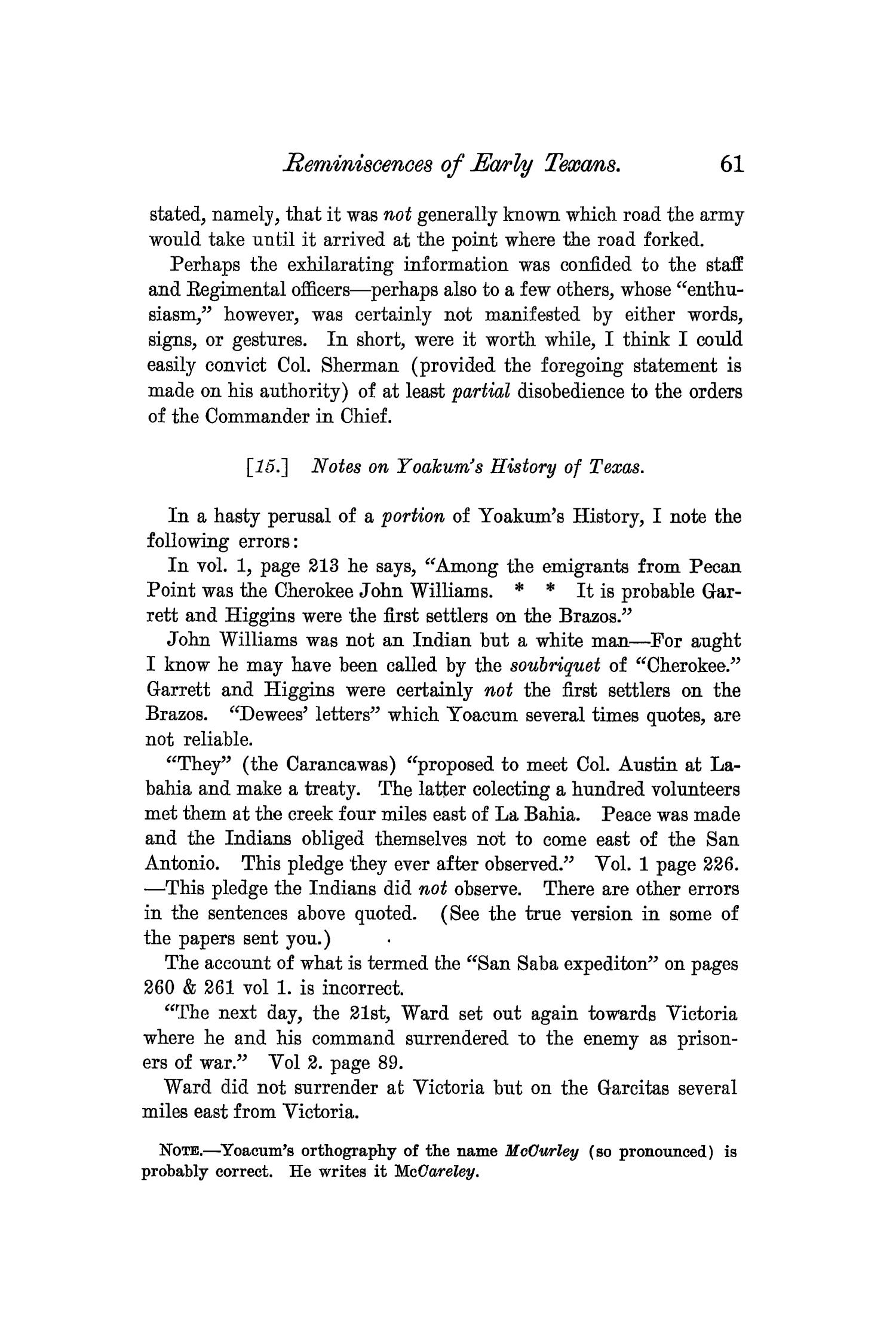 The Quarterly of the Texas State Historical Association, Volume 7, July 1903 - April, 1904                                                                                                      61