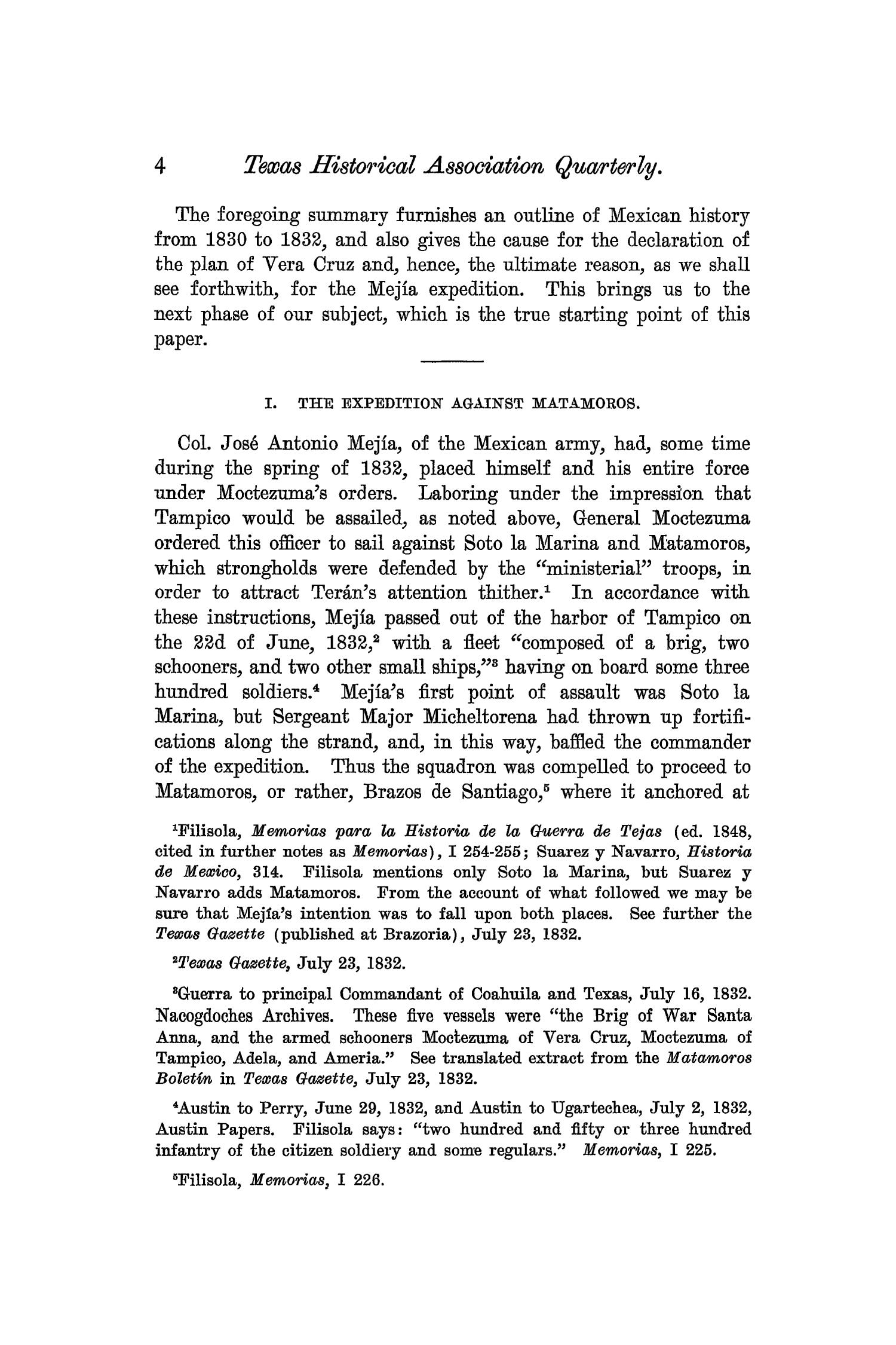 The Quarterly of the Texas State Historical Association, Volume 7, July 1903 - April, 1904                                                                                                      4
