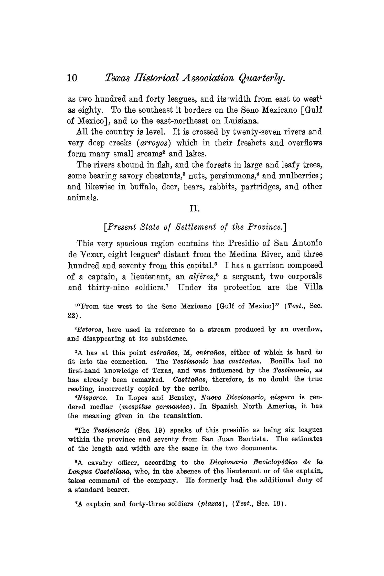 The Quarterly of the Texas State Historical Association, Volume 8, July 1904 - April, 1905                                                                                                      10