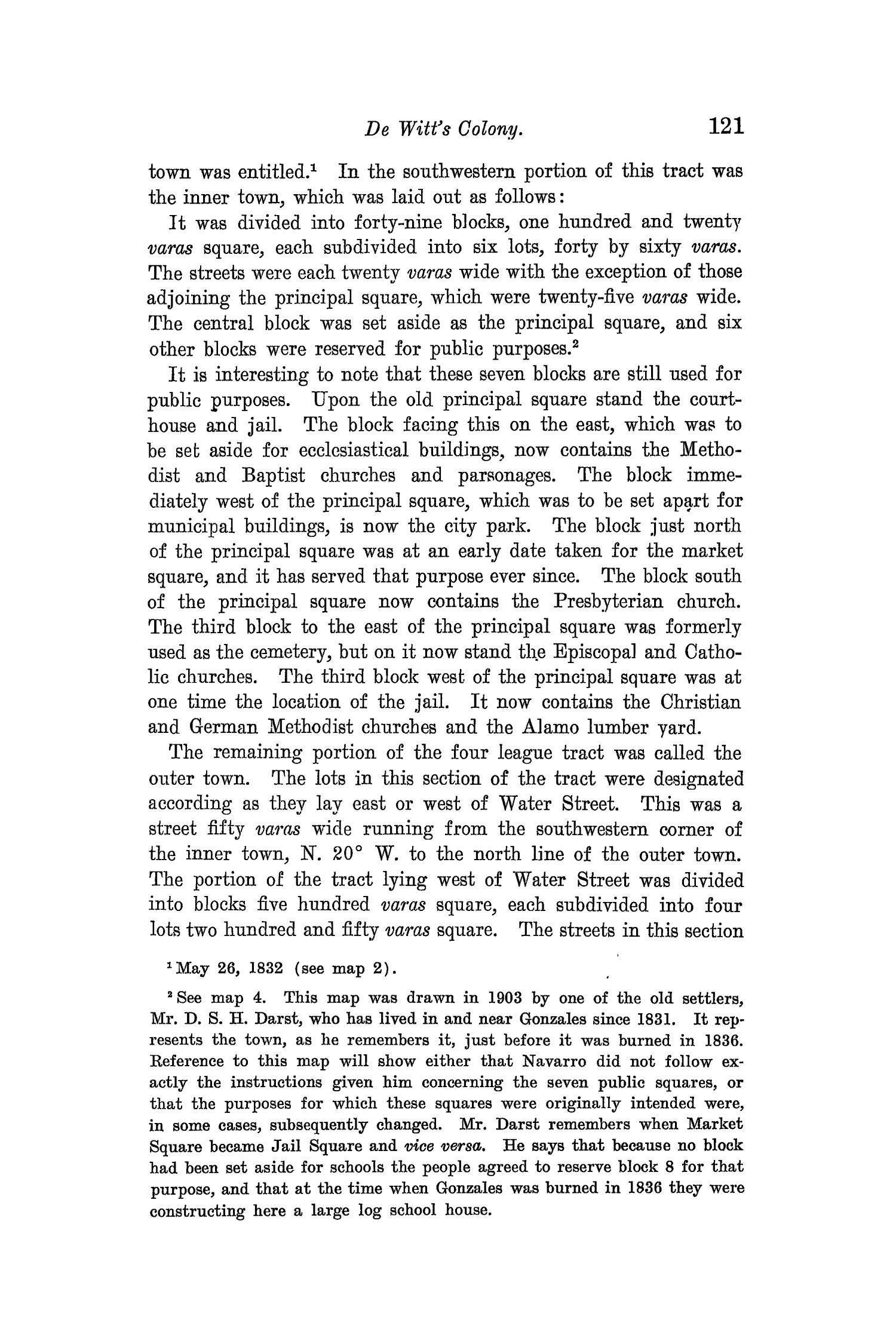 The Quarterly of the Texas State Historical Association, Volume 8, July 1904 - April, 1905                                                                                                      121